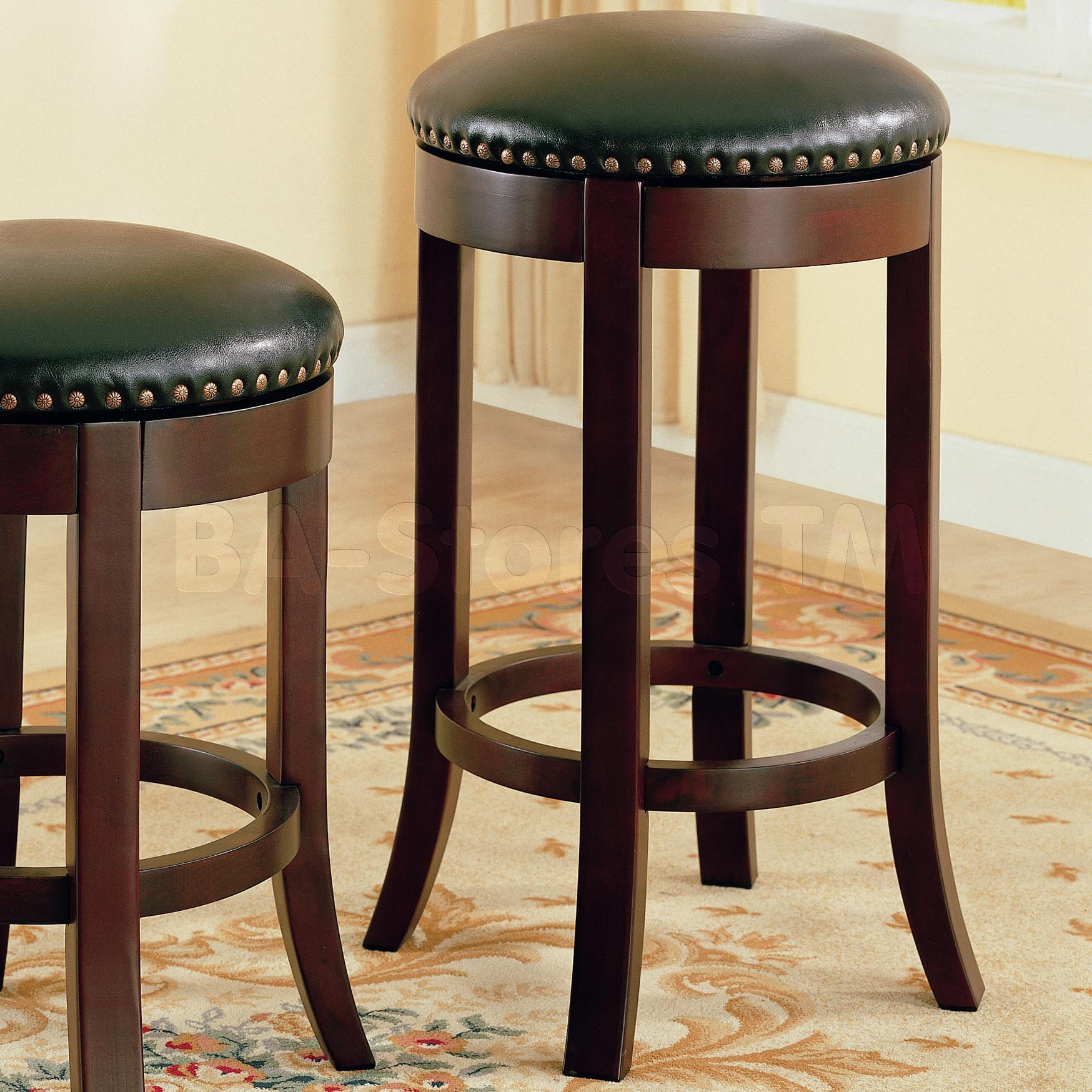 Dazzling leather bar stools for home furniture with leather swivel bar stools