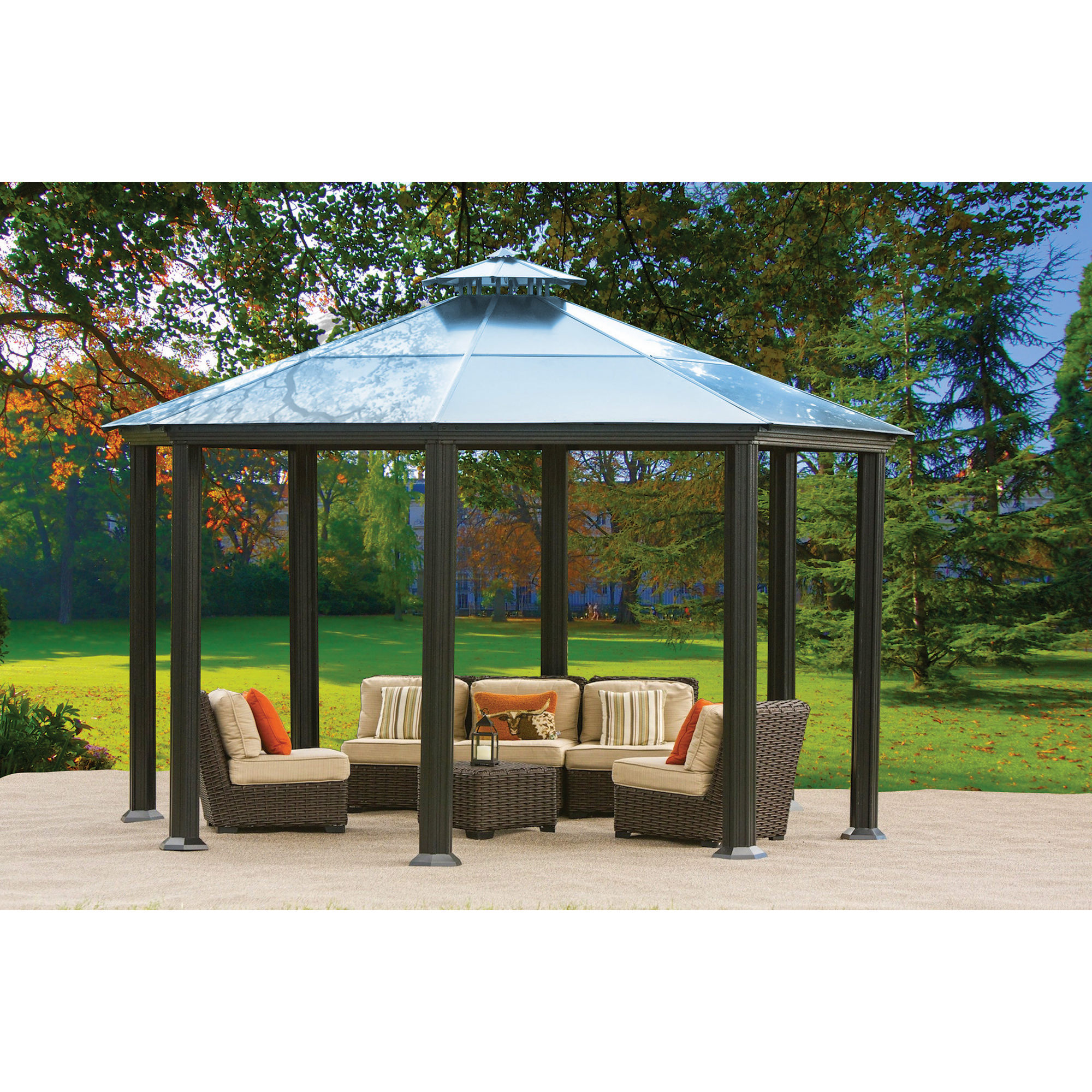 Dazzling sunjoy gazebo for garden ideas with sunjoy hardtop gazebo and sunjoy grill gazebo