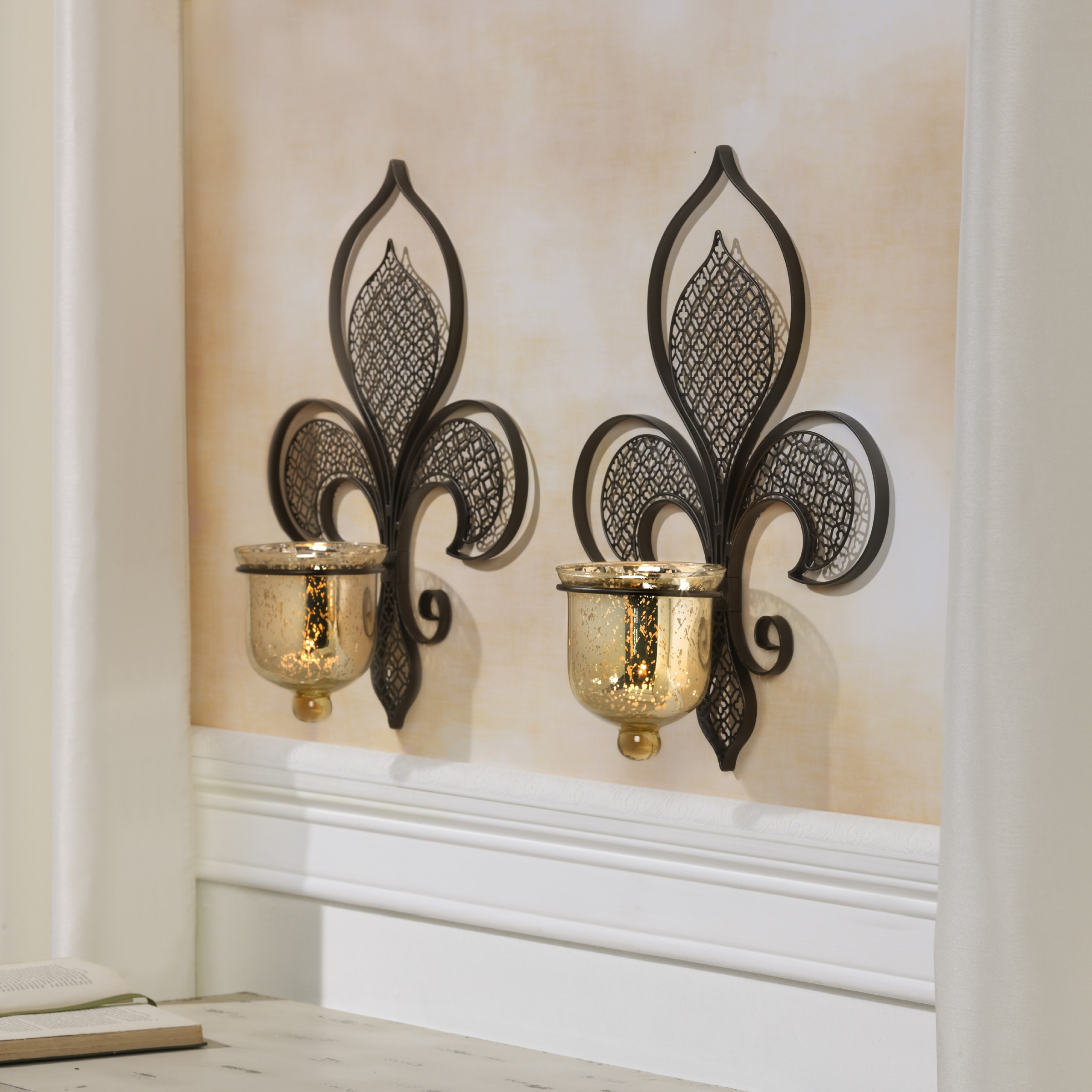 Elegant fleur de lis home decor for classic home decoration with cheap fleur de lis home decor