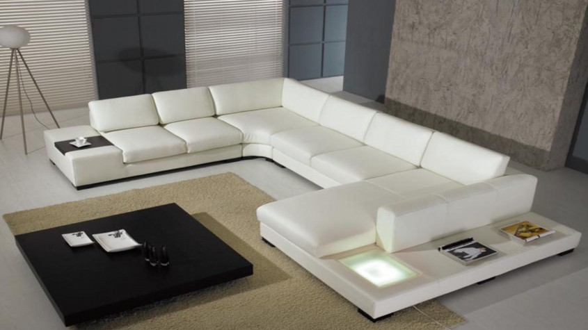 Elegant L Shaped Couch For Home Decoration With L Shaped Couch Covers