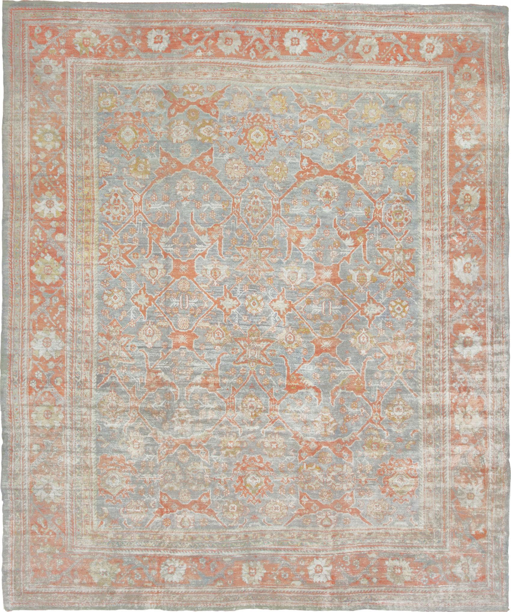 Elegant oushak rugs for floorings and rugs ideas with antique oushak rugs
