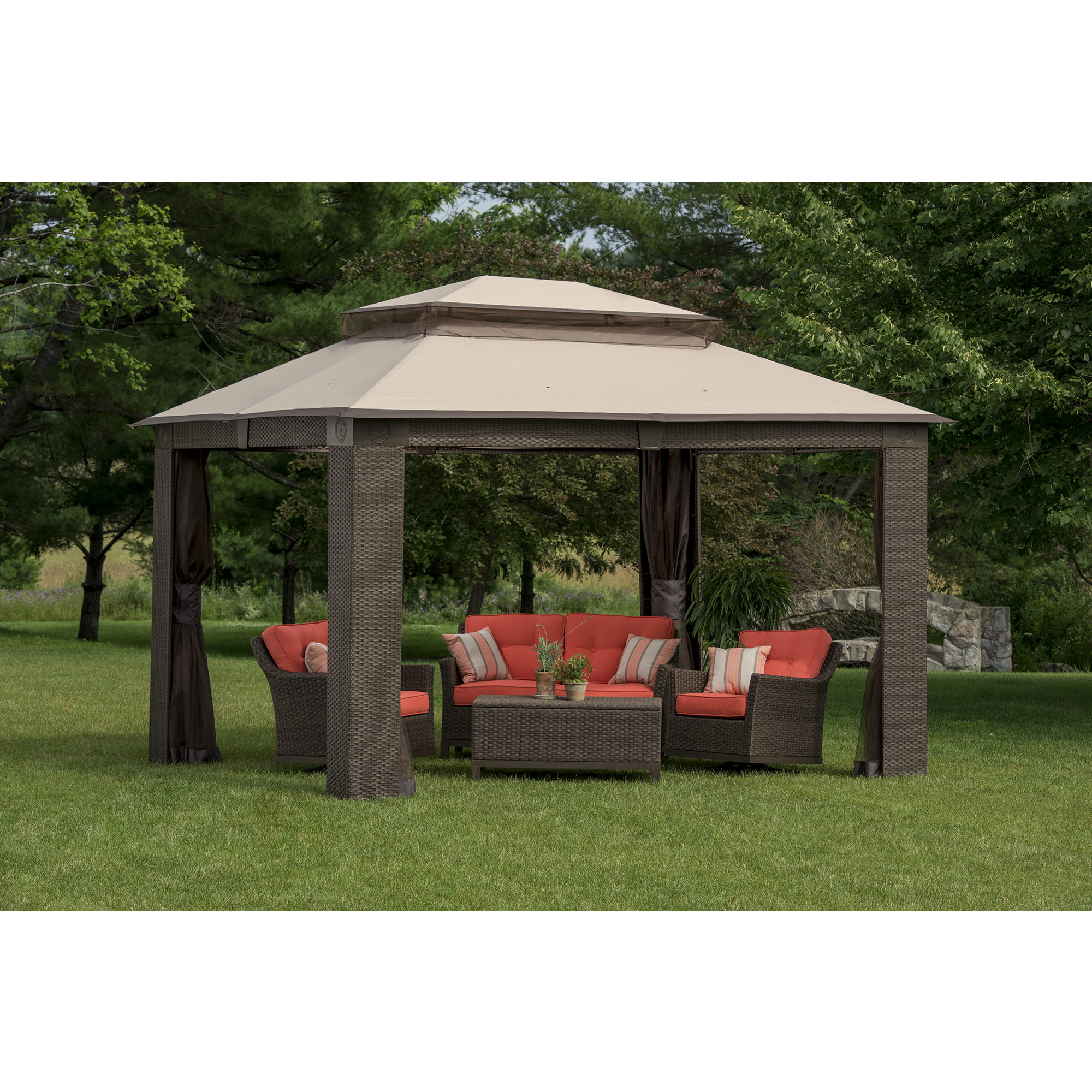 Elegant sunjoy gazebo for garden ideas with sunjoy hardtop gazebo and sunjoy grill gazebo