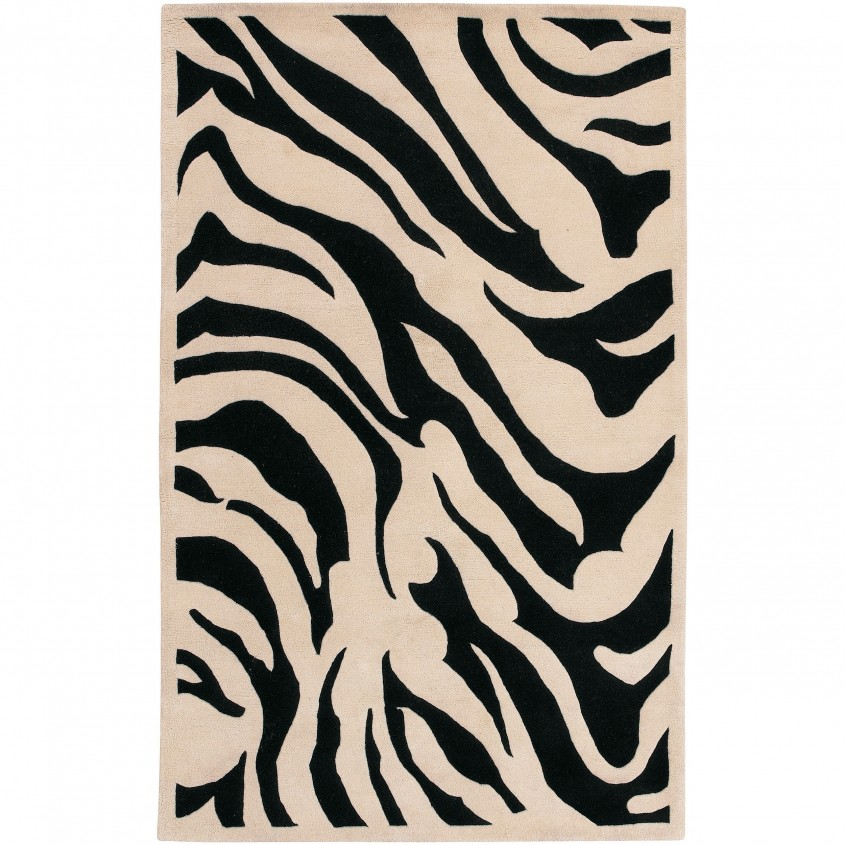 Elegant Zebra Rug For Floorings And Rugs Ideas With Zebra Skin Rug