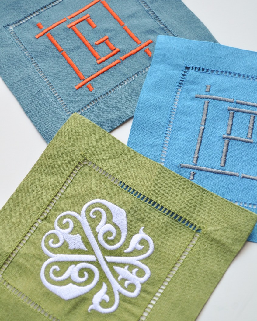 Enjoyable Cocktail Napkins For Furniture Accessories With Personalized Cocktail Napkins