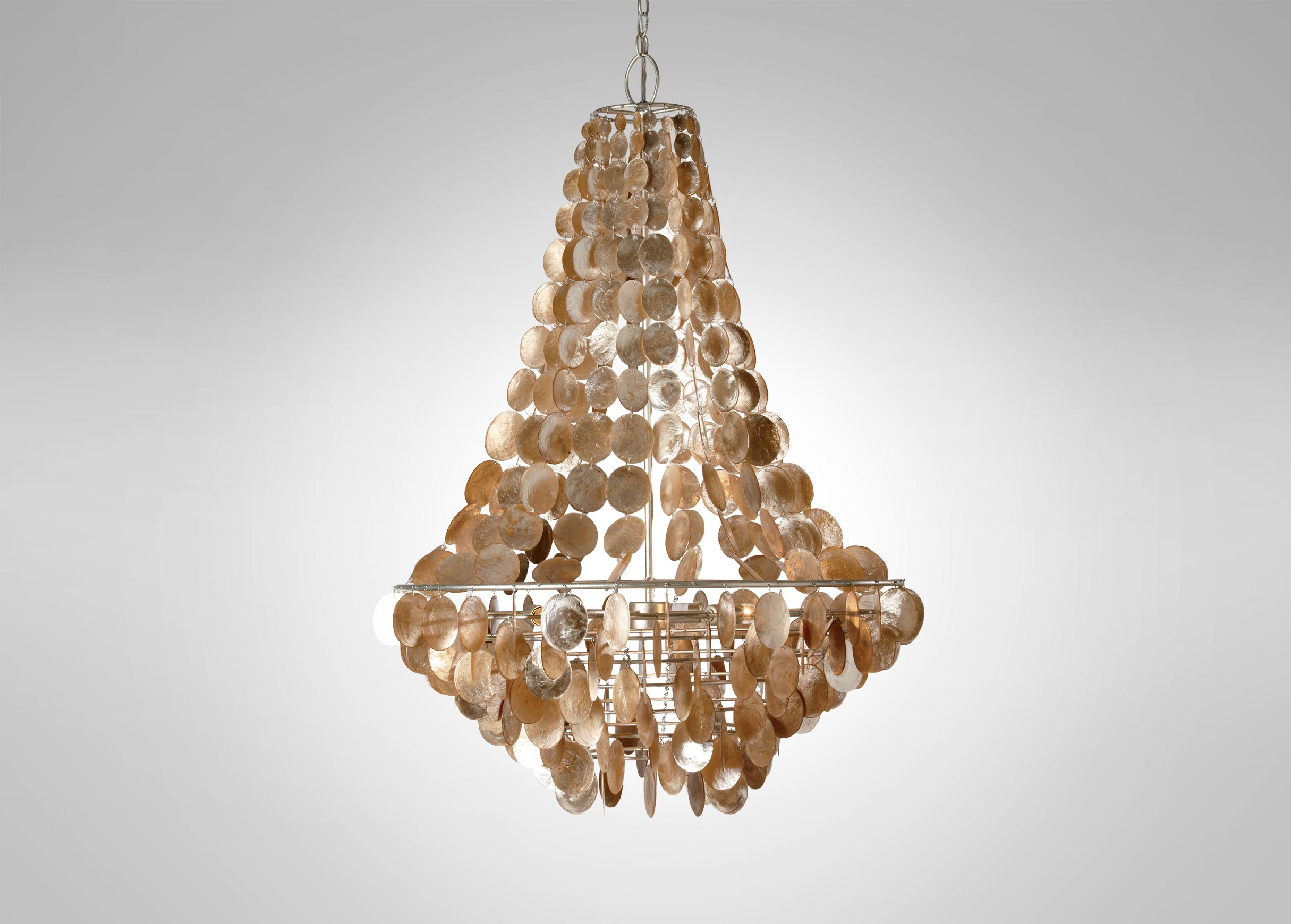 Excellent capiz chandelier for home lighting design with rectangular capiz chandelier