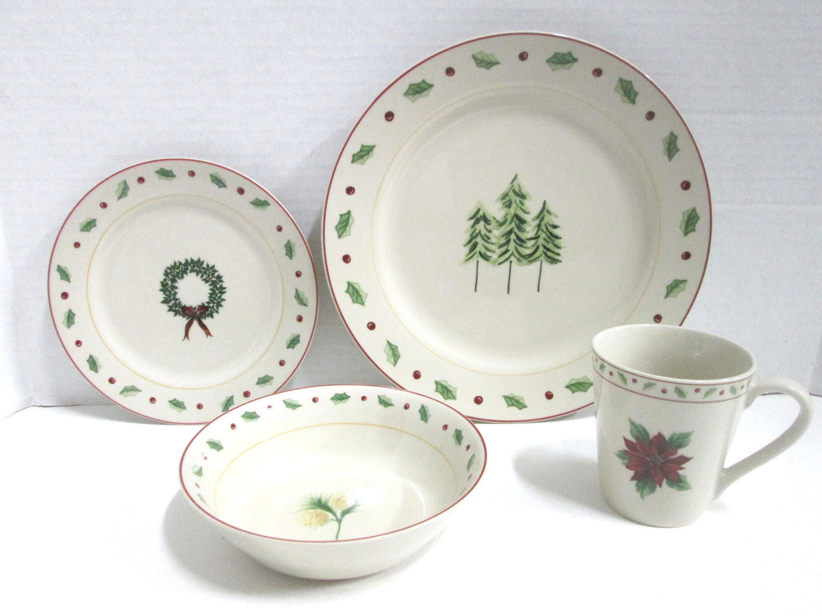Excellent christmas dinnerware for christmas decorating ideas with christmas dinnerware sets clearance