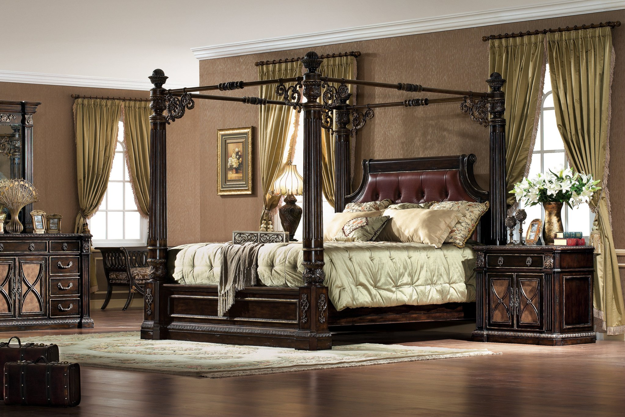 Excellent king canopy bed for classic bedroom ideas with king size canopy bed