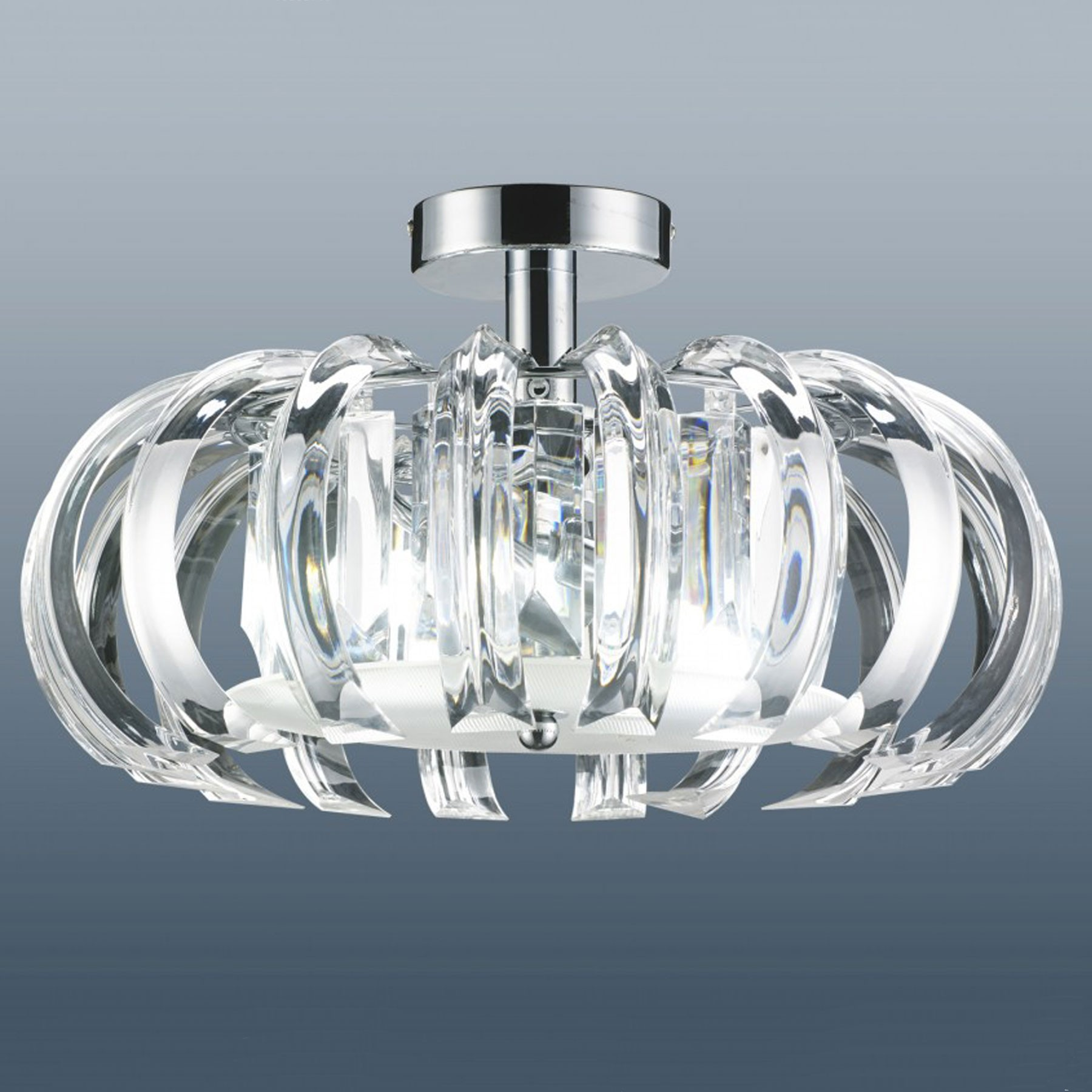 Excellent semi flush ceiling light for home lighting design with brushed nickel semi flush ceiling light