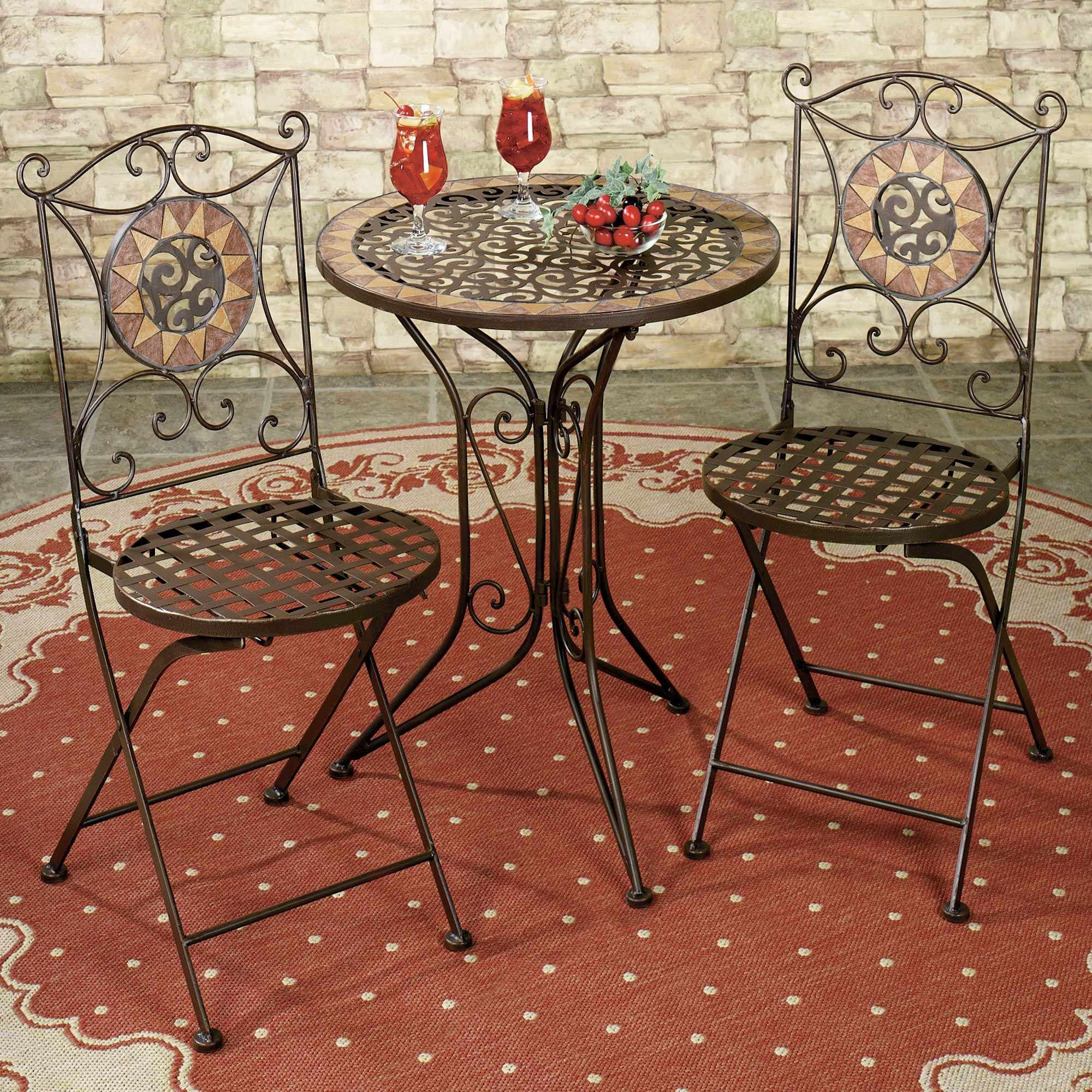 Exciting bistro table and chairs for home furniture ideas with outdoor bistro table and chairs