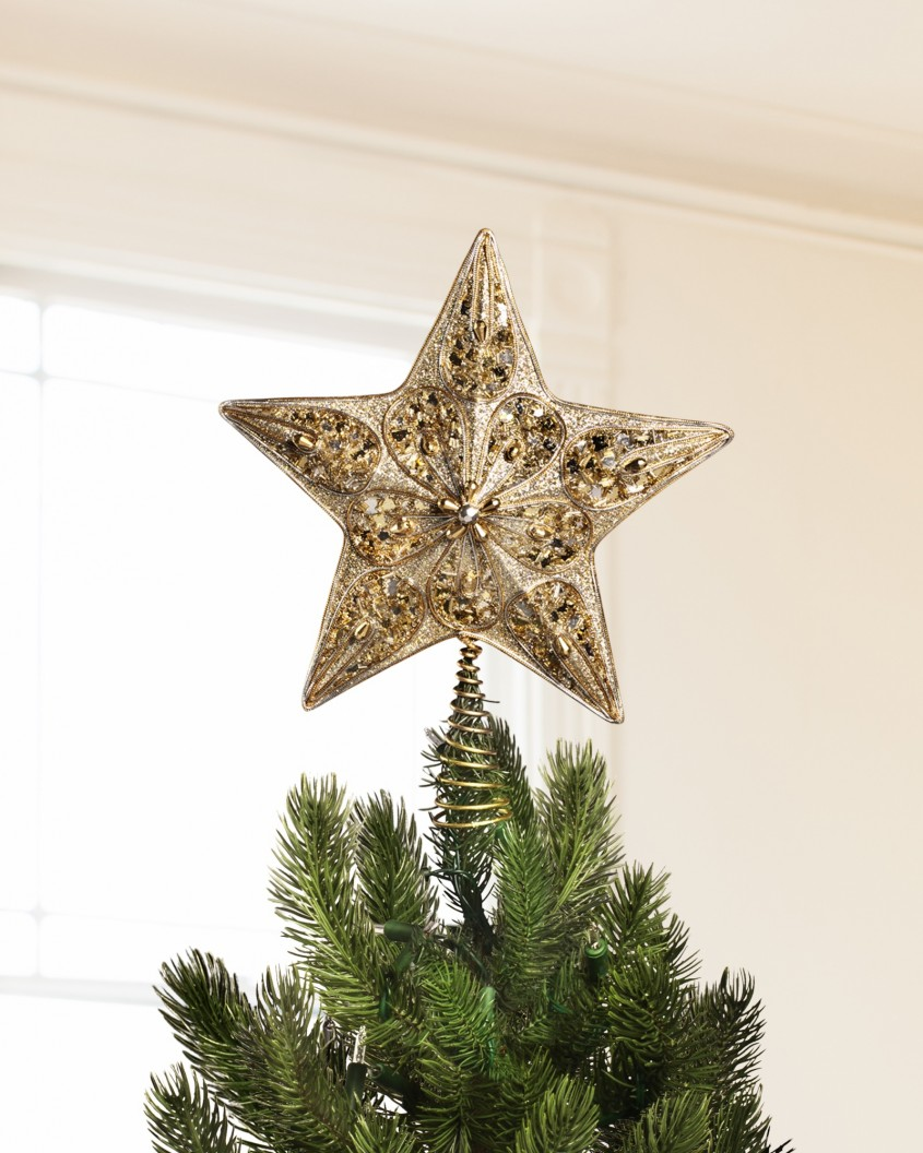 Exciting Christmas Tree Topper For Christmas Decorating Ideas With Unique Christmas Tree Toppers