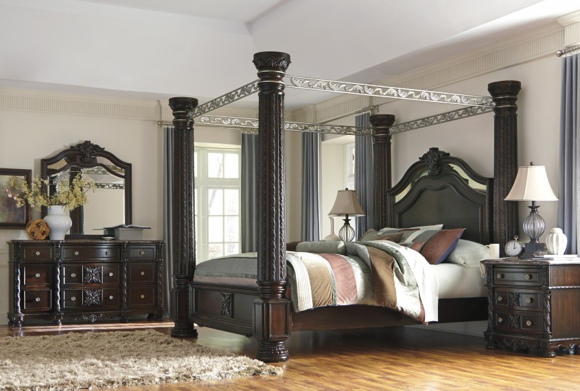 Exciting King Canopy Bed For Classic Bedroom Ideas With King Size Canopy Bed