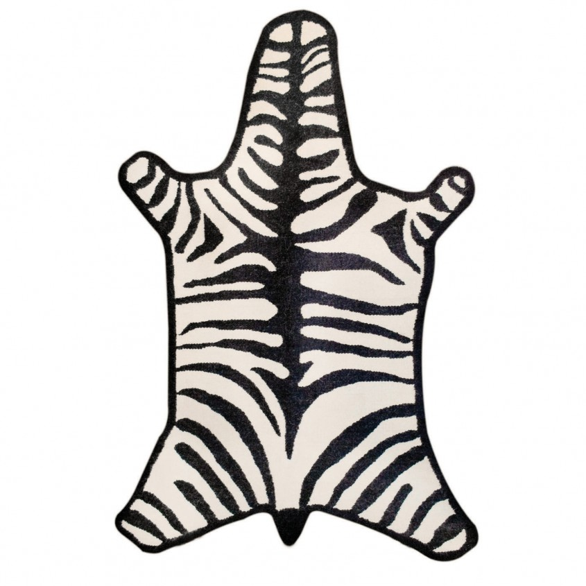 Exciting Zebra Rug For Floorings And Rugs Ideas With Zebra Skin Rug
