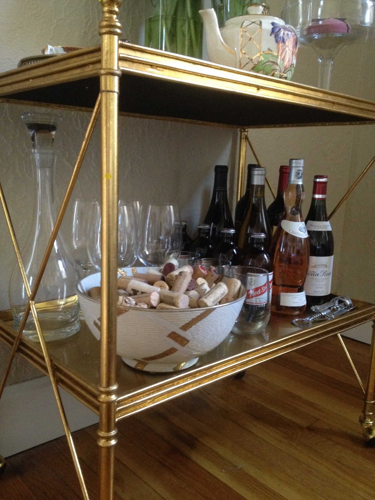 Exquisite bar carts for bar furniture ideas with gold bar cart and diy bar cart