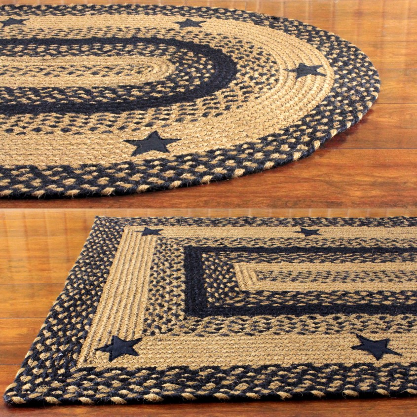 Exquisite Braided Rug For Floorings And Rugs Ideas With Round Braided Rugs And Braided Area Rugs