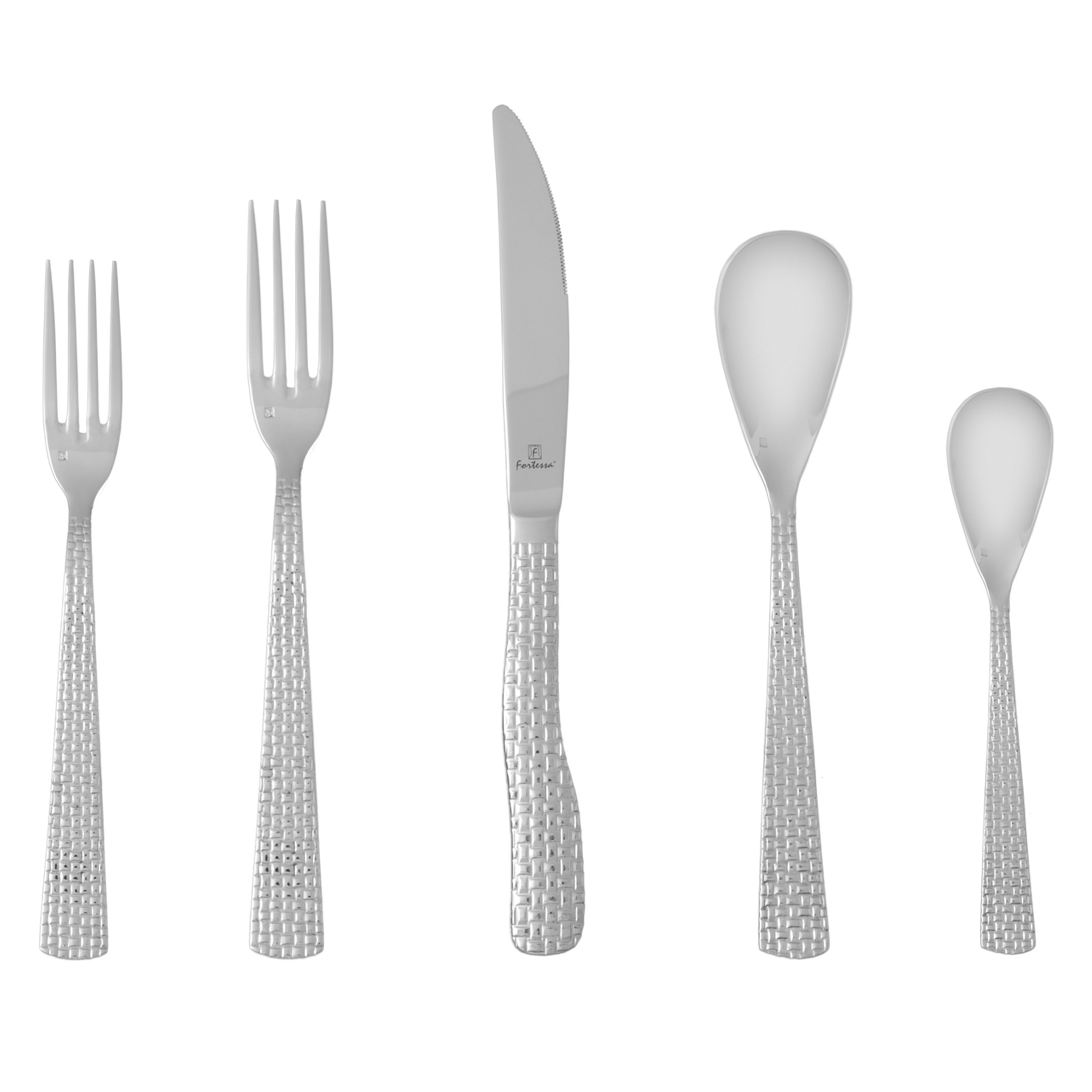 Exquisite fortessa flatware for kitchen and dining sets with fortessa silverware