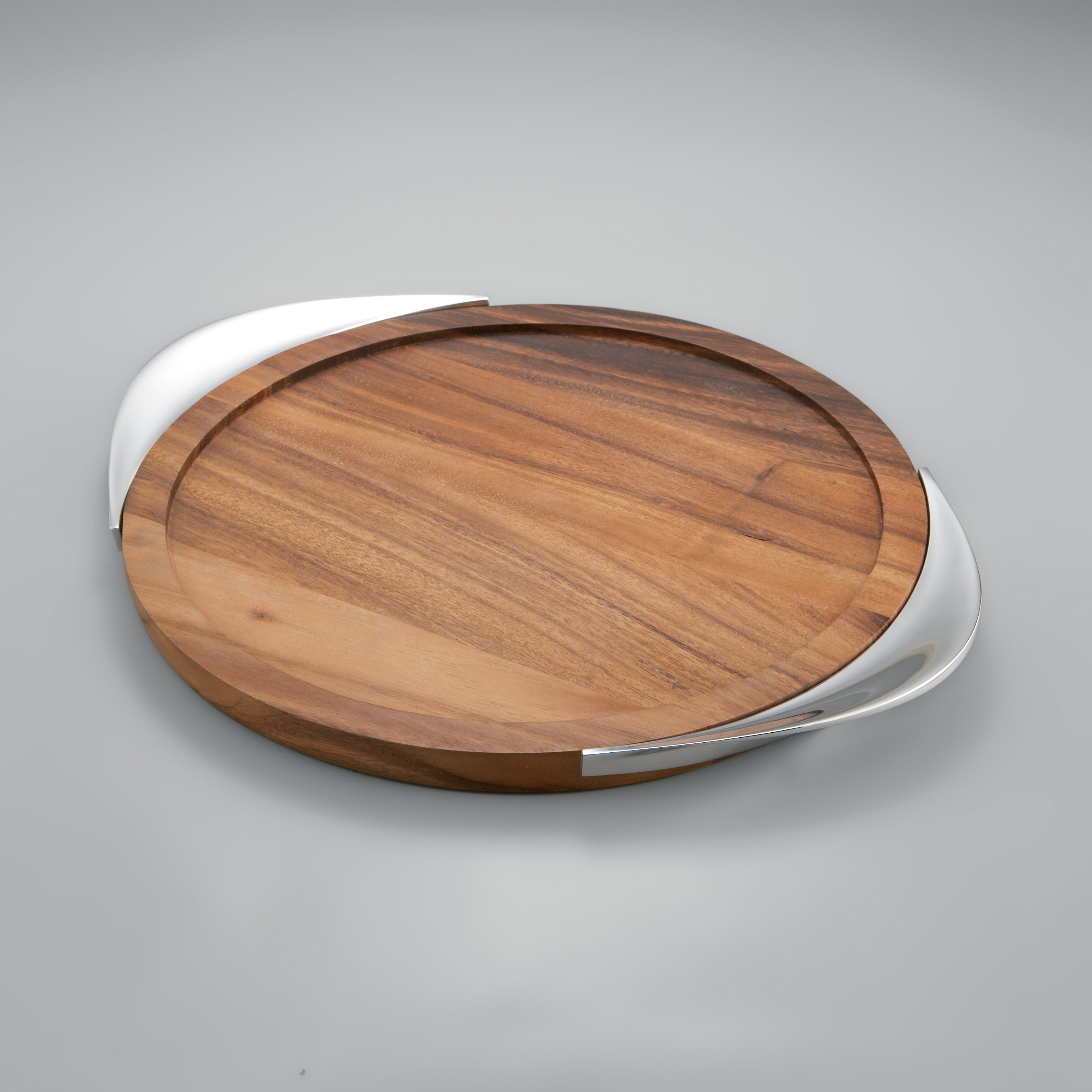 Exquisite nambe with Round Challah Board for interior decor ideas with nambe cookware