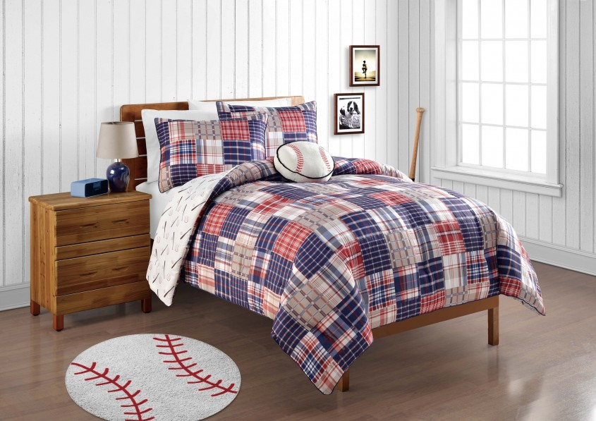 Exquisite Plaid Bedding For Simple Bedroom Design With Ralph Lauren Plaid Bedding
