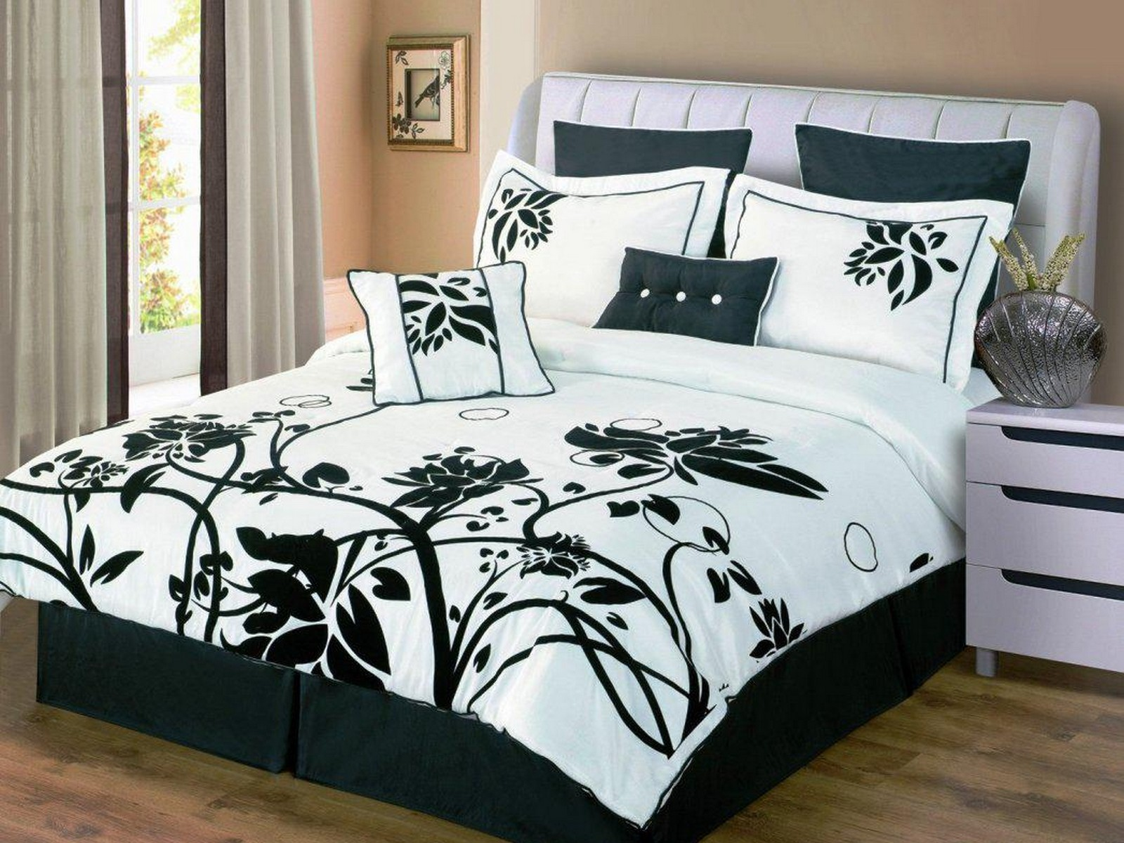 Exquisite queen size comforter sets for bedroom design with cheap queen size comforter sets