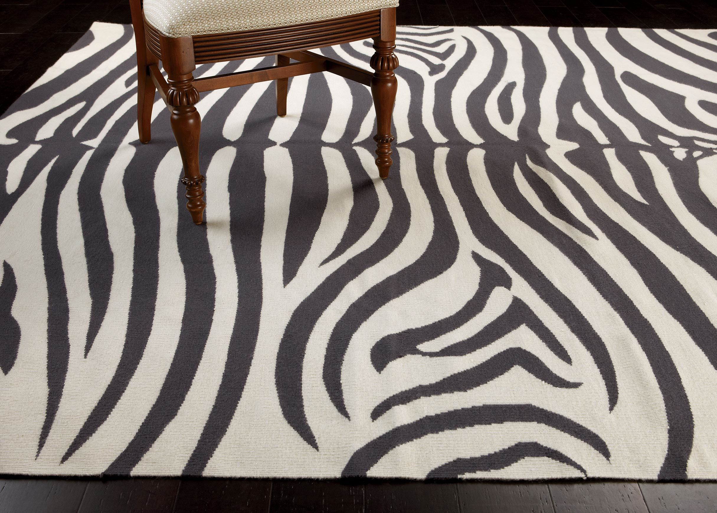 Exquisite zebra rug for floorings and rugs ideas with zebra skin rug