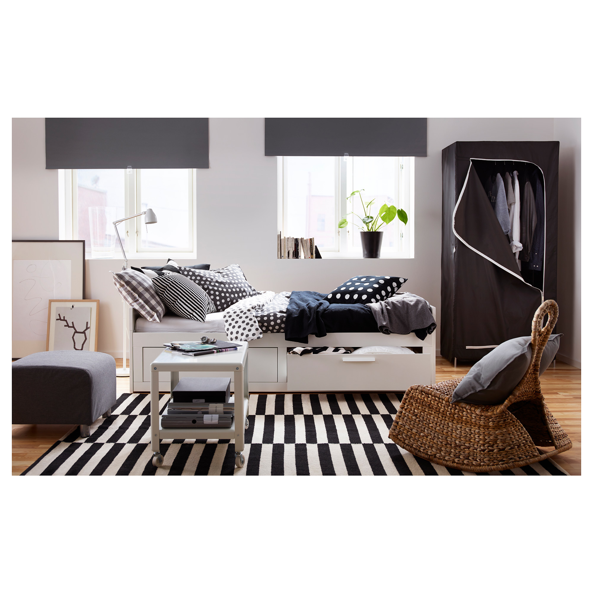 Extraordinary brimnes daybed for small bedroom ideas with ikea brimnes daybed