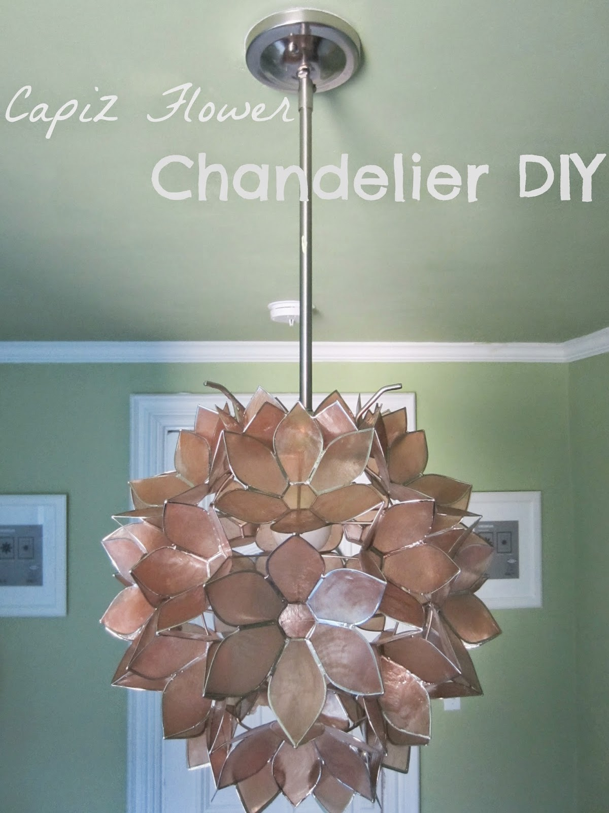 Extraordinary capiz chandelier for home lighting design with rectangular capiz chandelier