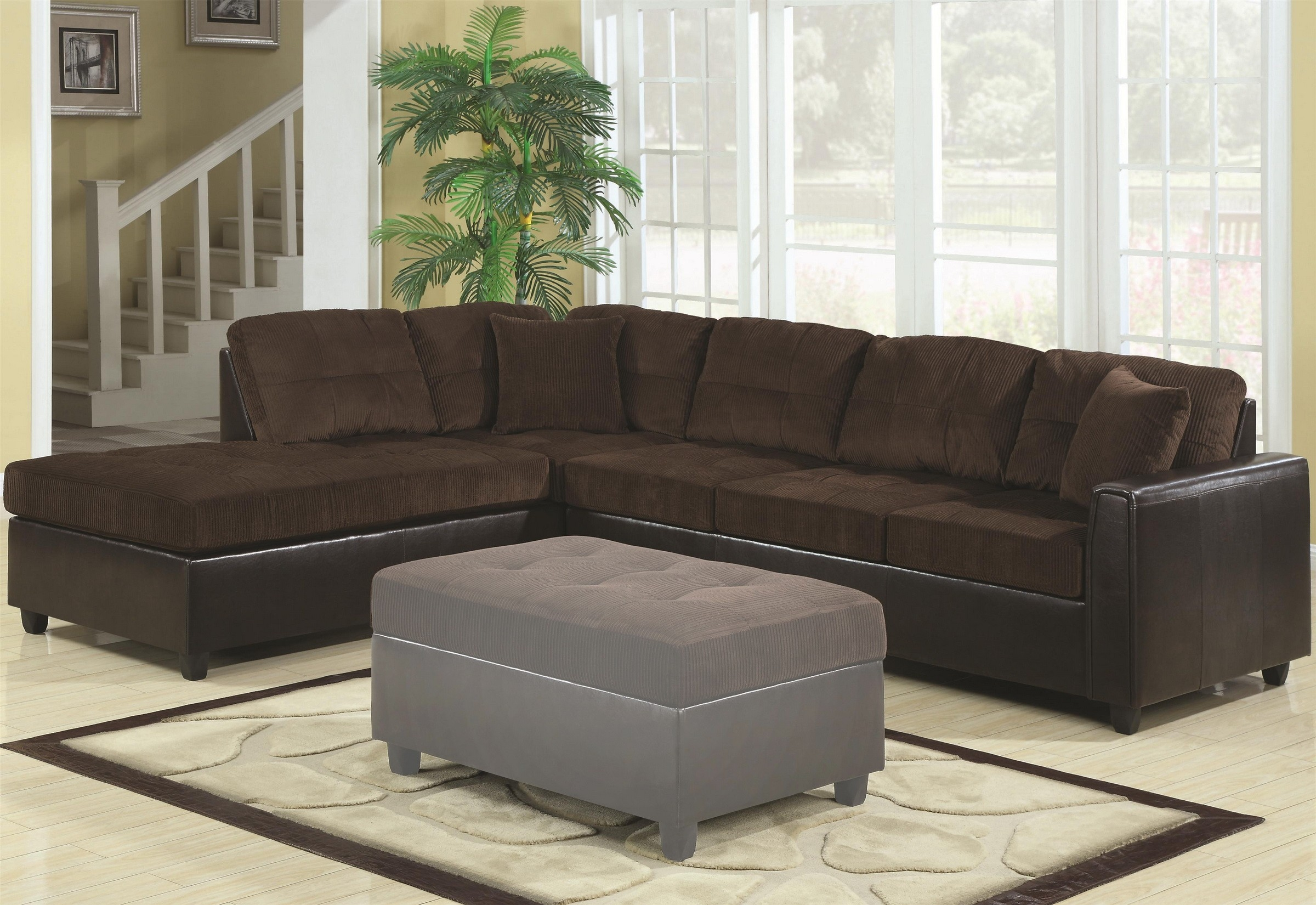 L Sectional Sofa has one of the best kind of other is Light Grey L Shaped Fabric Sectional Sofa With Three Tufted Back - Book of Stefanie