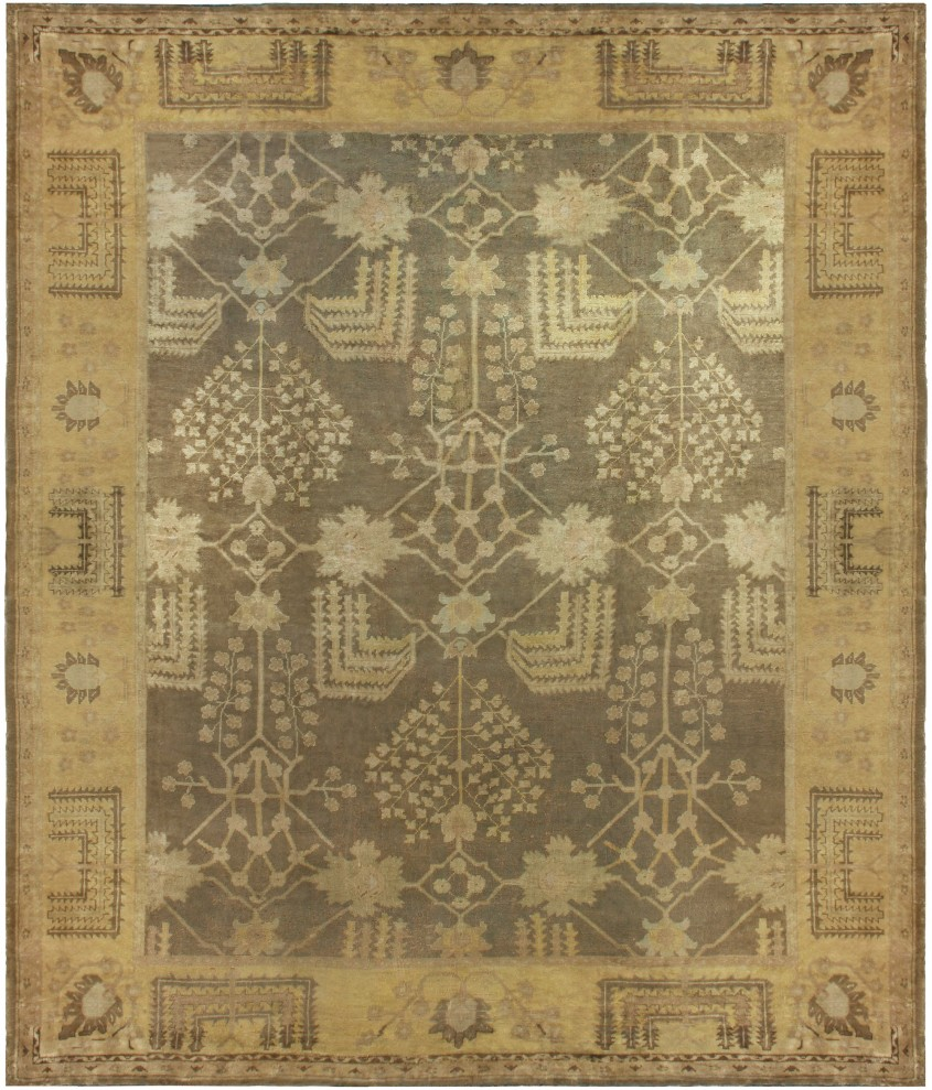 Extraordinary Oushak Rugs For Floorings And Rugs Ideas With Antique Oushak Rugs