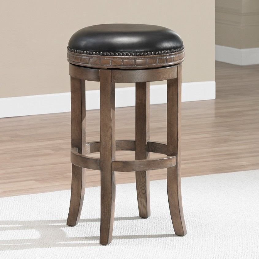 Fabulous Leather Bar Stools For Home Furniture With Leather Swivel Bar Stools