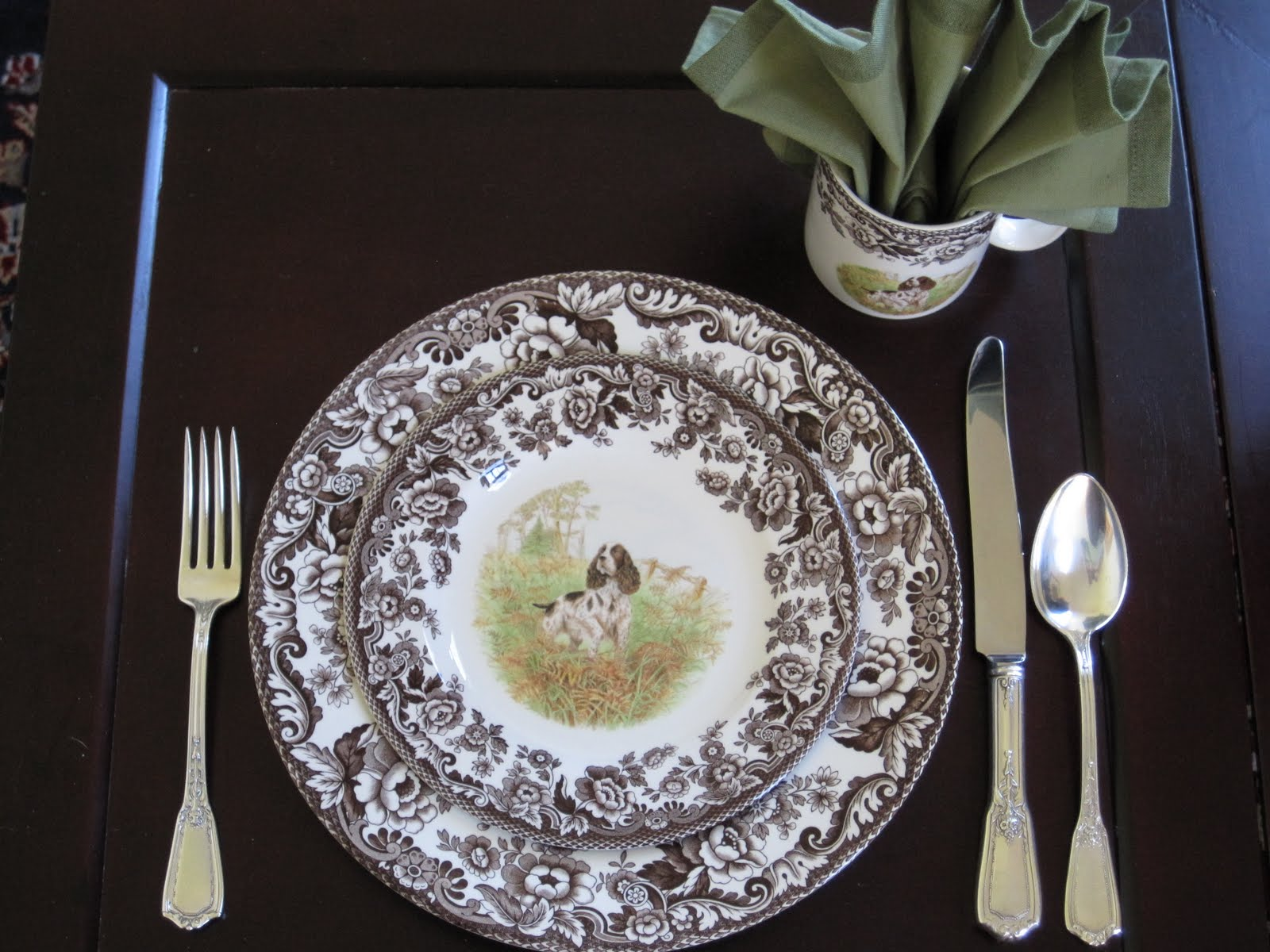 Fancy spode woodland for dining room with spode woodland dinner plates