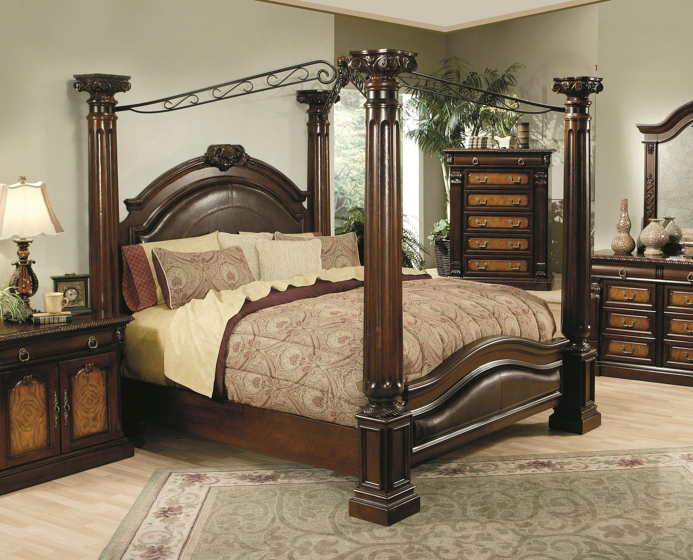 Fantastic king canopy bed for classic bedroom ideas with king size canopy bed & Bedroom Design: Cute King Canopy Bed For Classic Bedroom Ideas ...