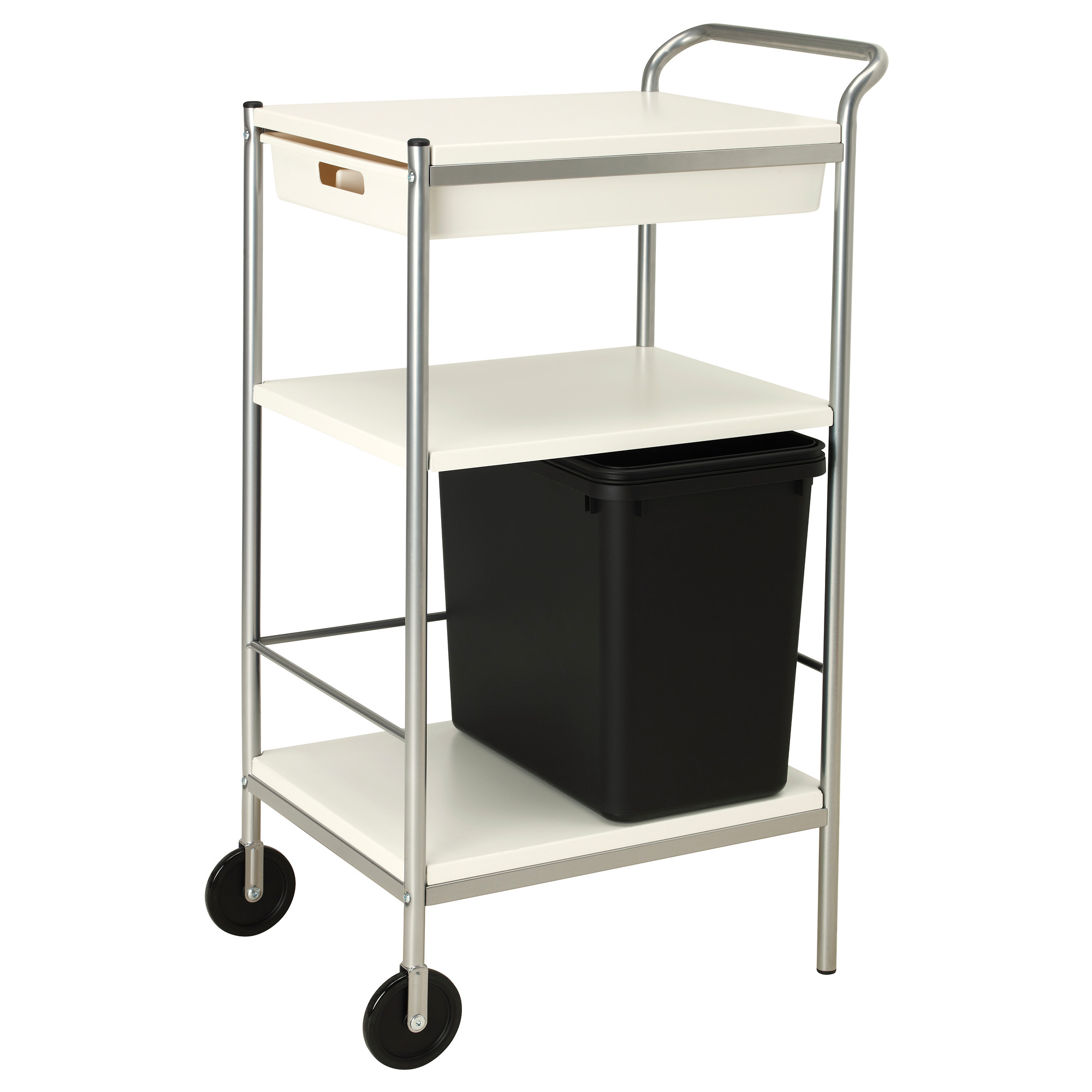 Kitchen utility cart ikea r skog utility cart ikea to use for Microwave carts ikea