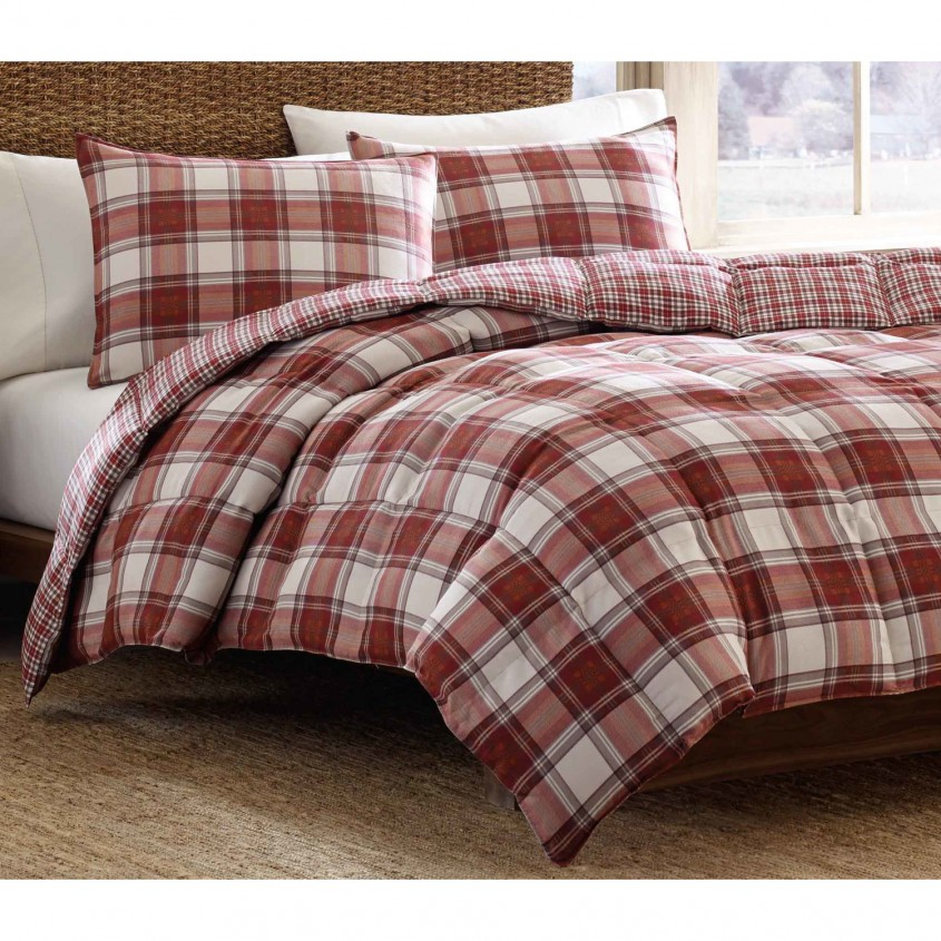 Fantastic Plaid Bedding For Simple Bedroom Design With Ralph Lauren Plaid Bedding