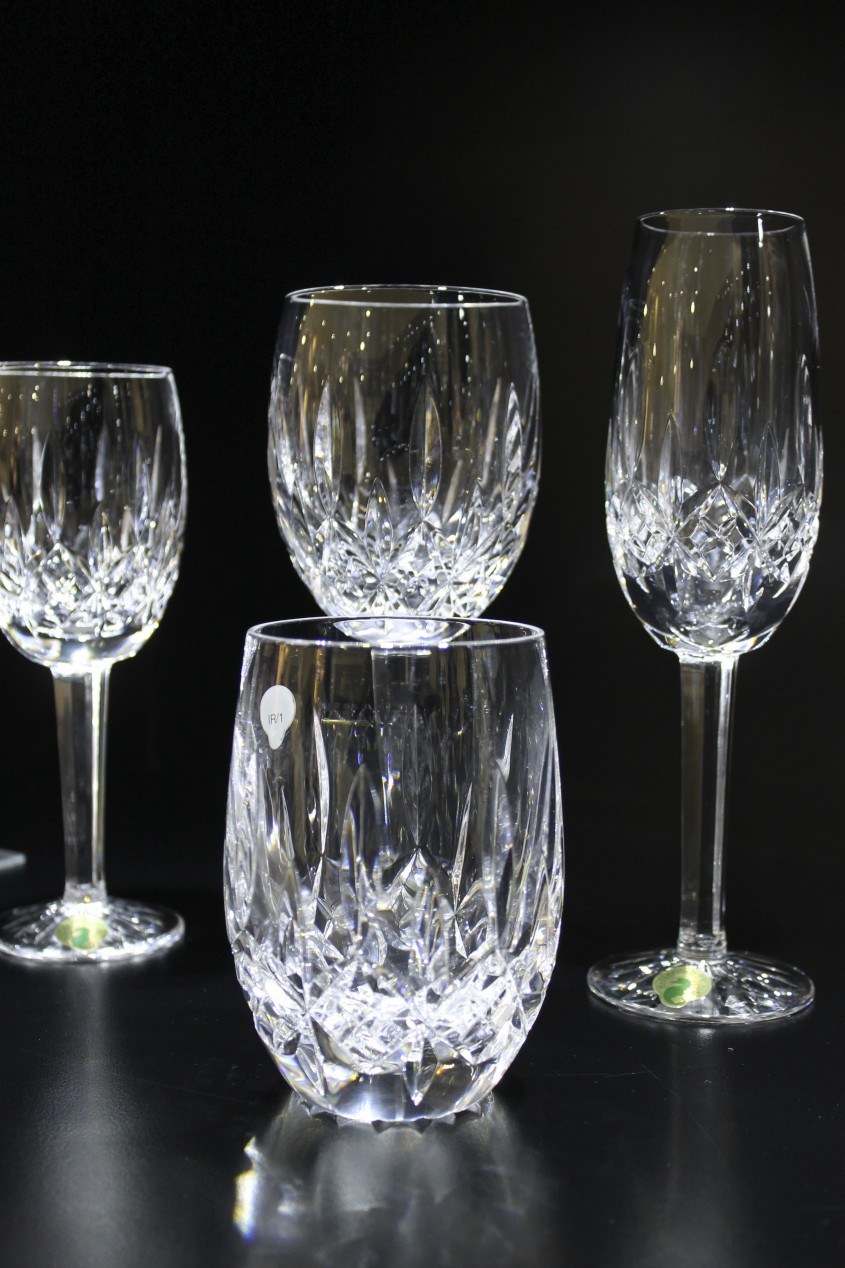 Fantastic Waterford Crystal Patterns For Dining Sets Ideas With Waterford Crystal Glass Patterns