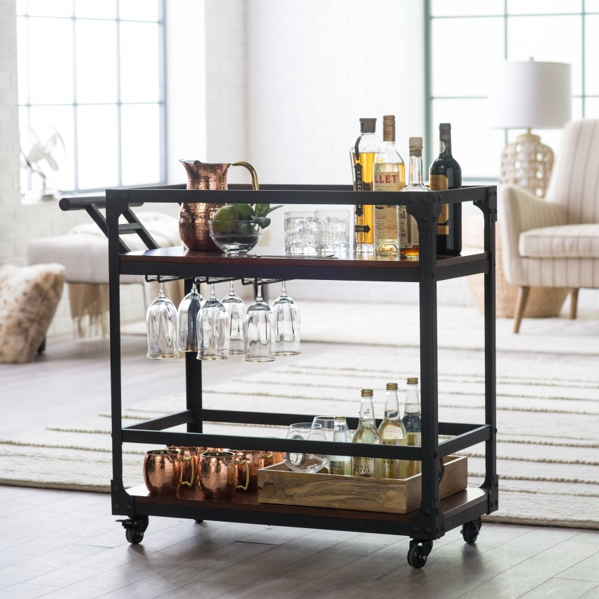Fascinating Bar Carts For Bar Furniture Ideas With Gold Bar Cart And Diy Bar Cart