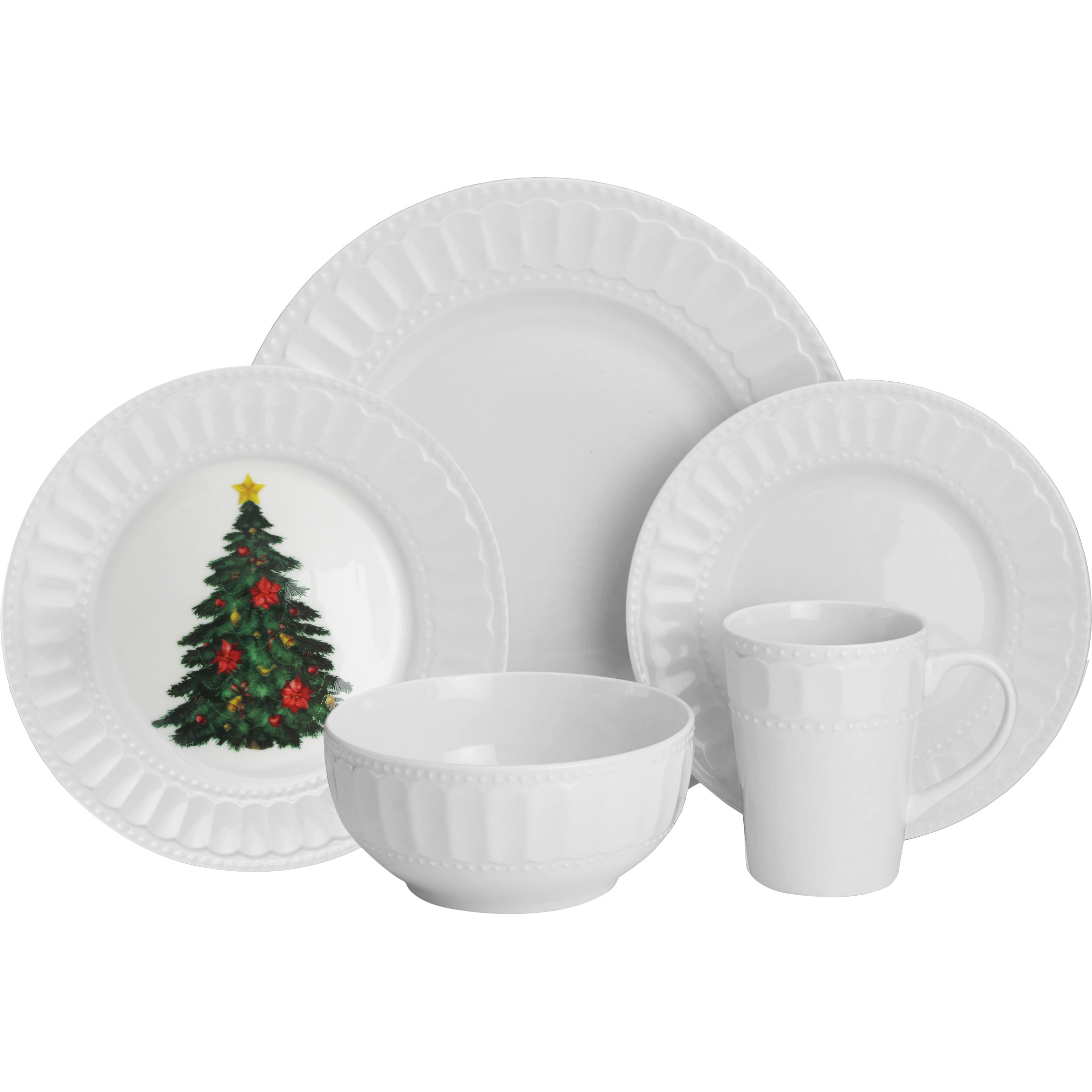 Fascinating christmas dinnerware for christmas decorating ideas with christmas dinnerware sets clearance