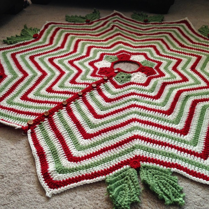 Fascinating Christmas Tree Skirts For Christmas Ideas With Christmas Tree Skirt Pattern