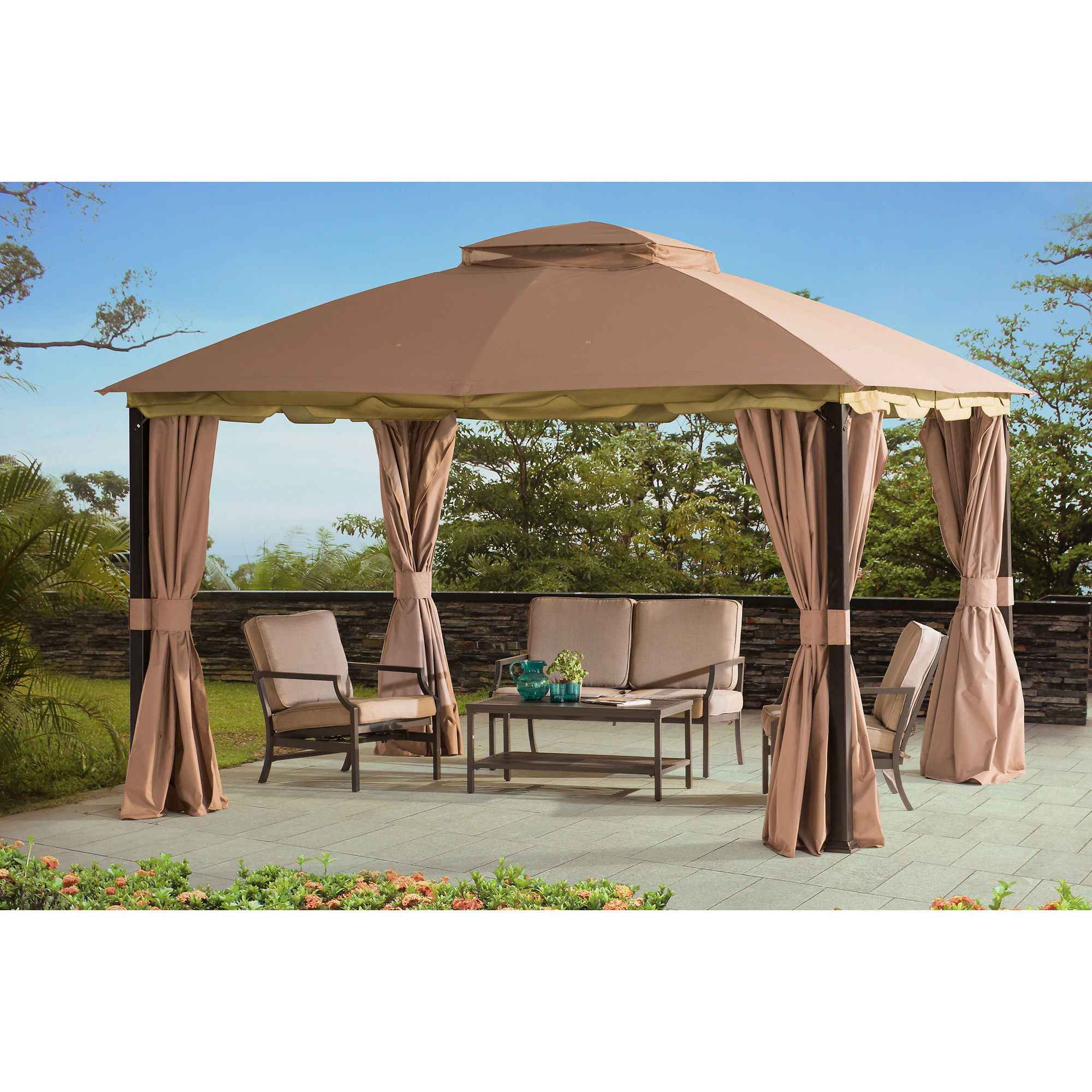 Fascinating sunjoy gazebo for garden ideas with sunjoy hardtop gazebo and sunjoy grill gazebo
