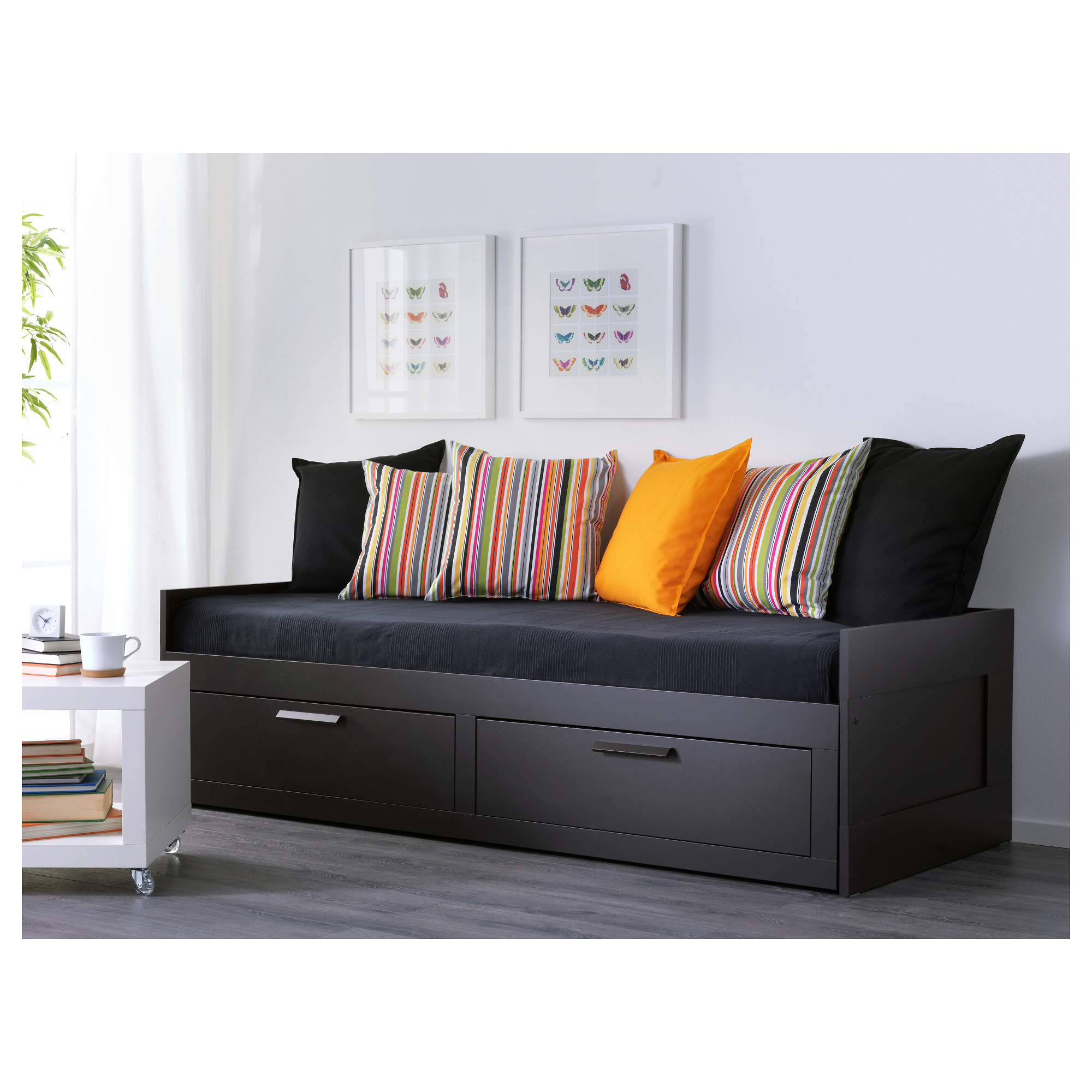 Gorgeous brimnes daybed for small bedroom ideas with ikea brimnes daybed