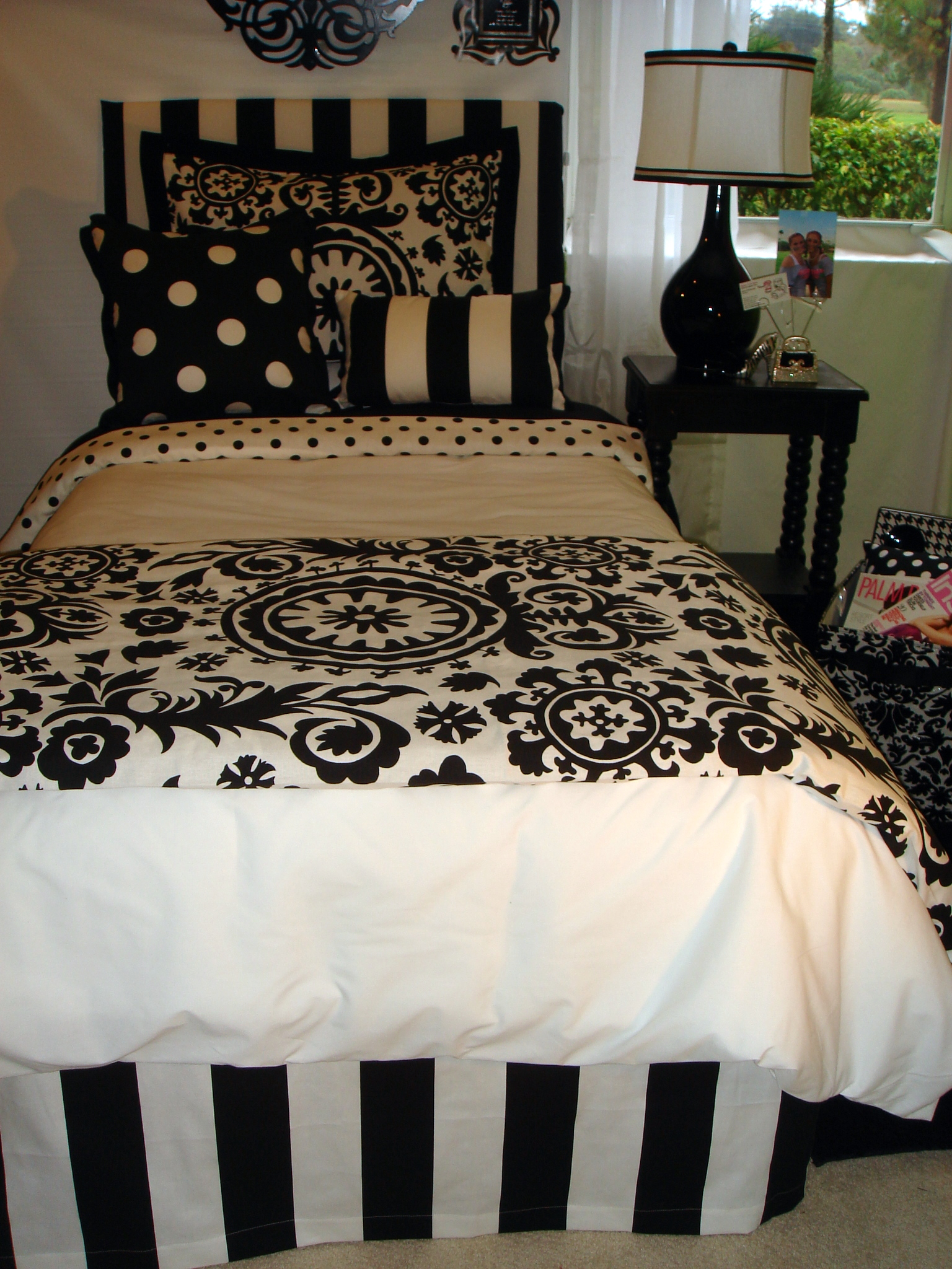 Gorgeous damask bedding for bed decorating ideas with damask bedding set and damask crib bedding