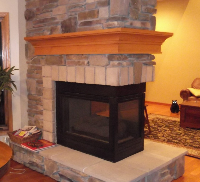 Gorgeous Fireplace Mantle For Interior Living Room With Electric Fireplace With Mantle