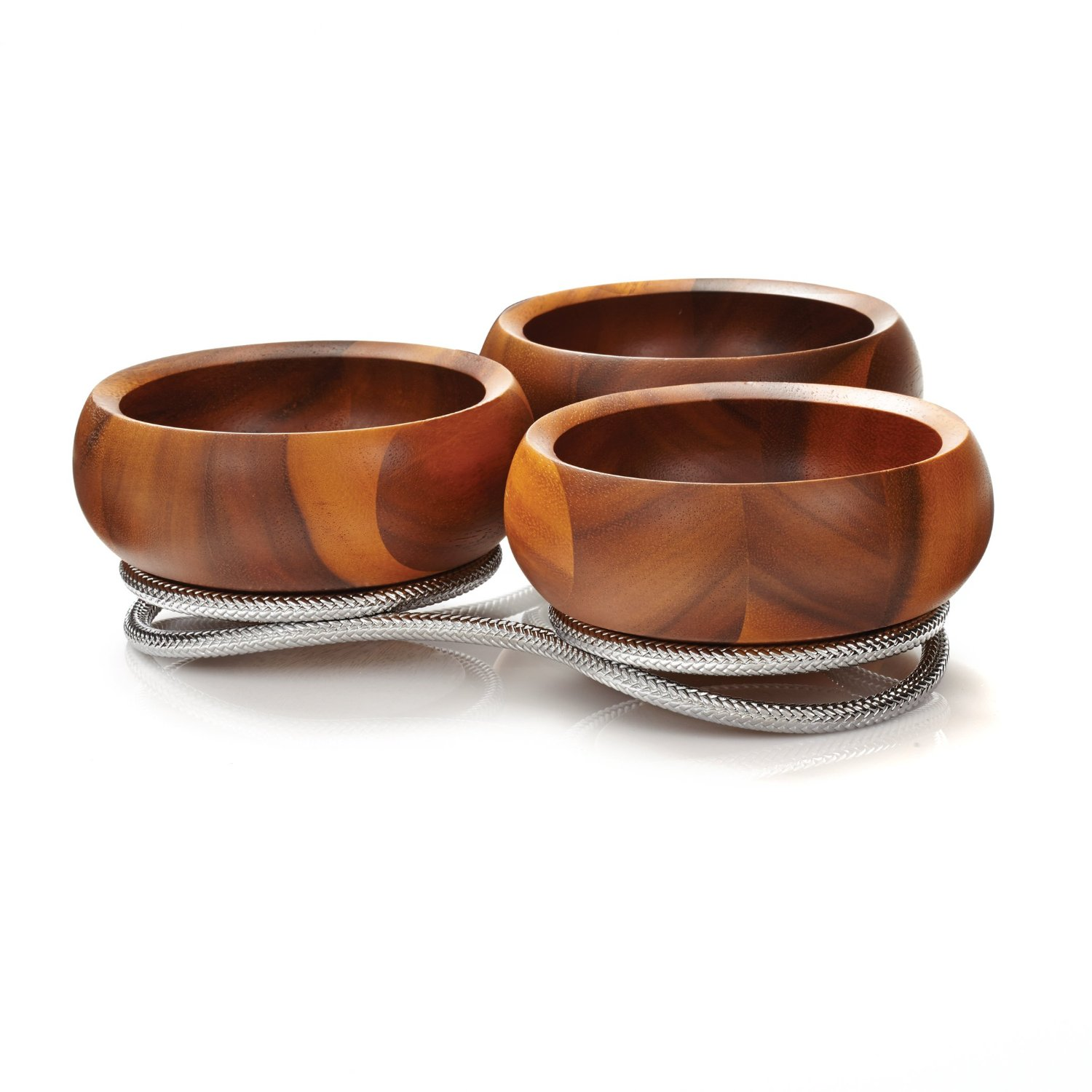 Gorgeous Nambe With Nambe Braid Condiment Server For Interior Decor Ideas With Nambe Cookware