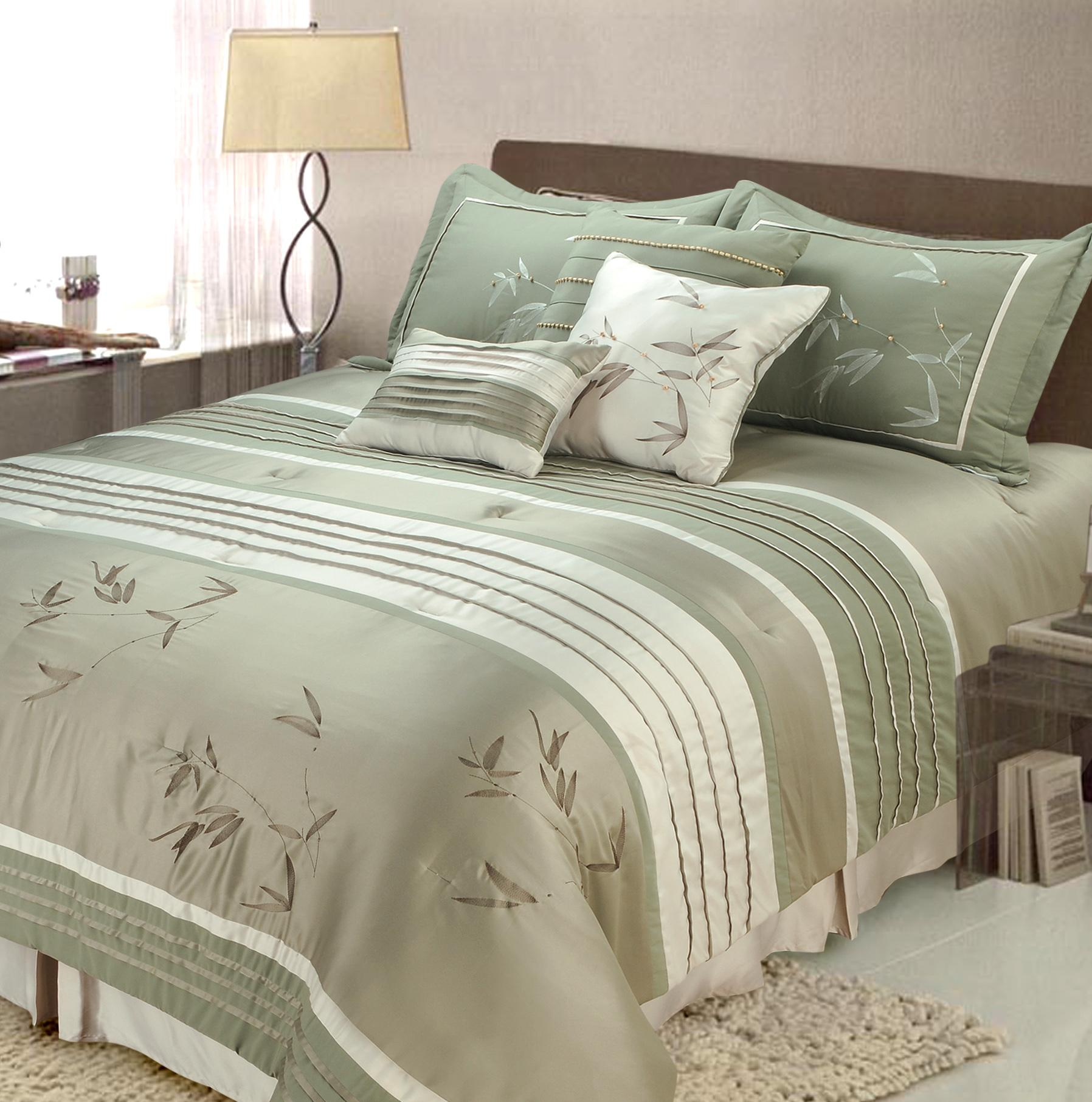 Gorgeous queen size comforter sets for bedroom design with cheap queen size comforter sets