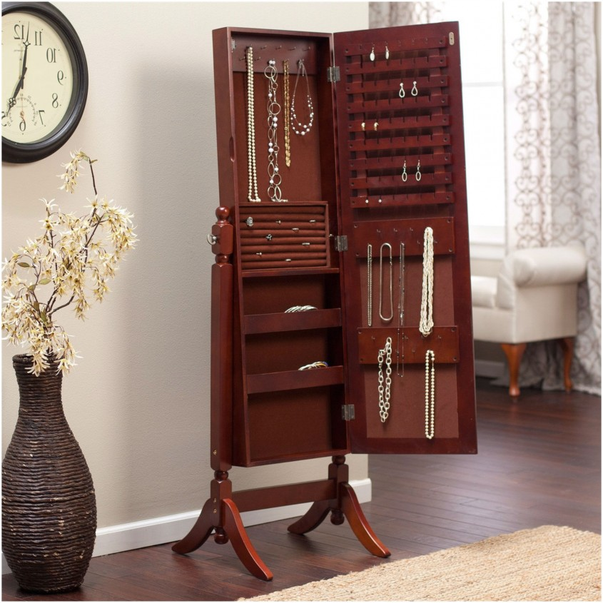Great Cheval Mirror Jewelry Armoire For Home Furniture Ideas With White Cheval Mirror Jewelry Armoire