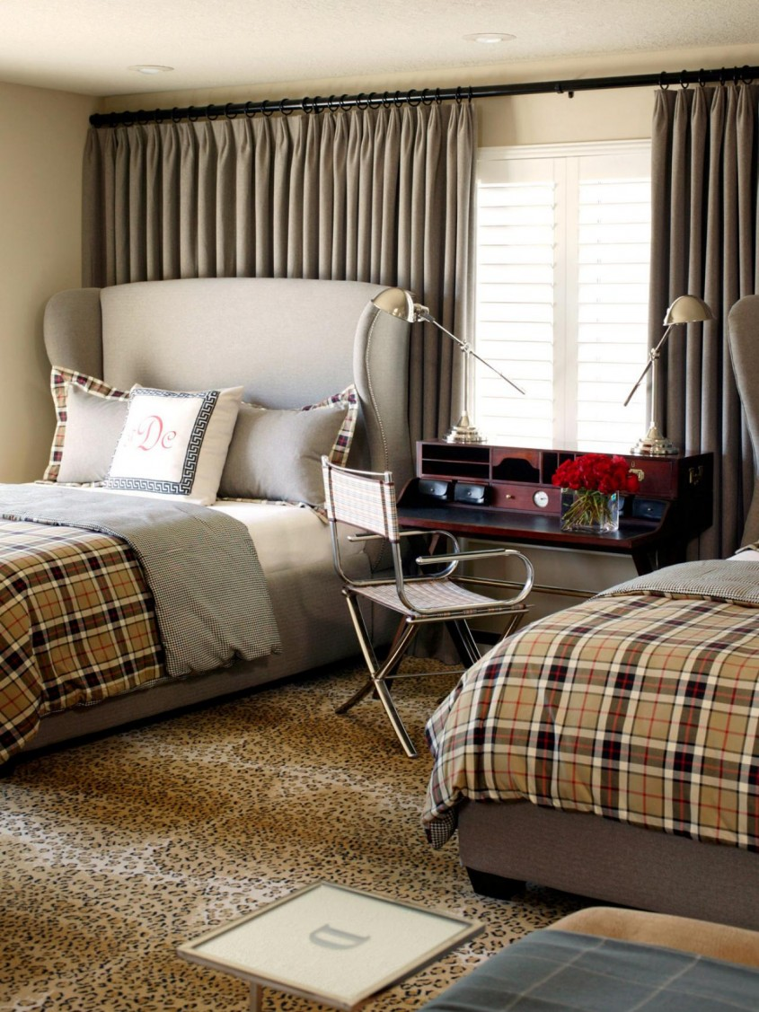Great Plaid Bedding For Simple Bedroom Design With Ralph Lauren Plaid Bedding