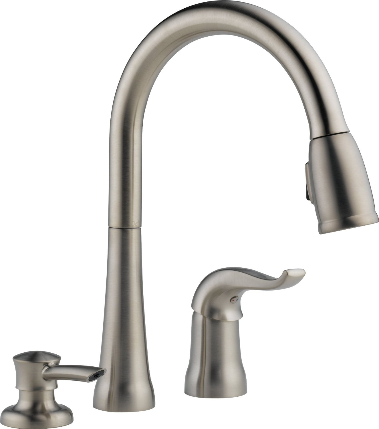 Impressive delta cassidy kitchen faucet for kitchen faucet ideas with delta single handle kitchen faucet with spray