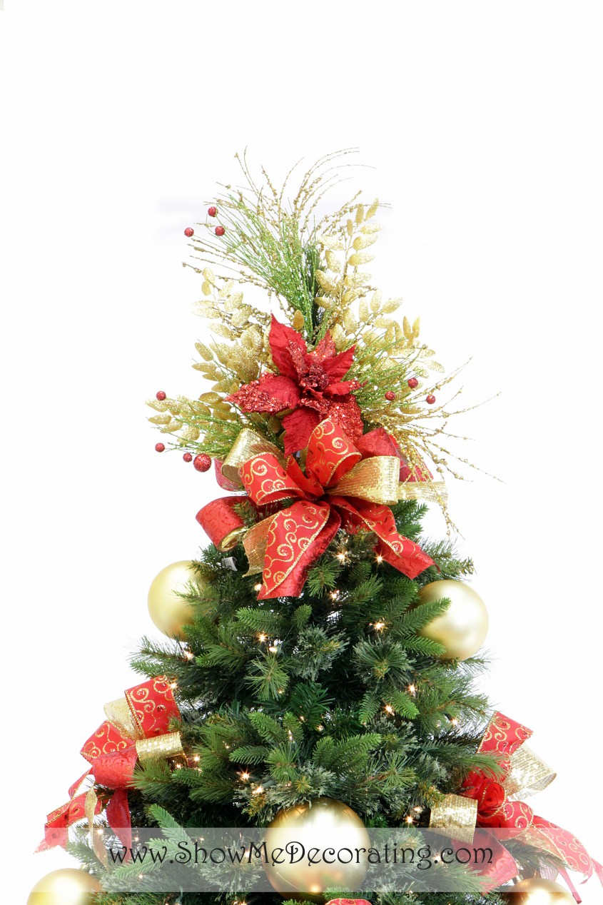 Incredible Christmas Tree Topper For Christmas Decorating Ideas With Unique Christmas Tree Toppers