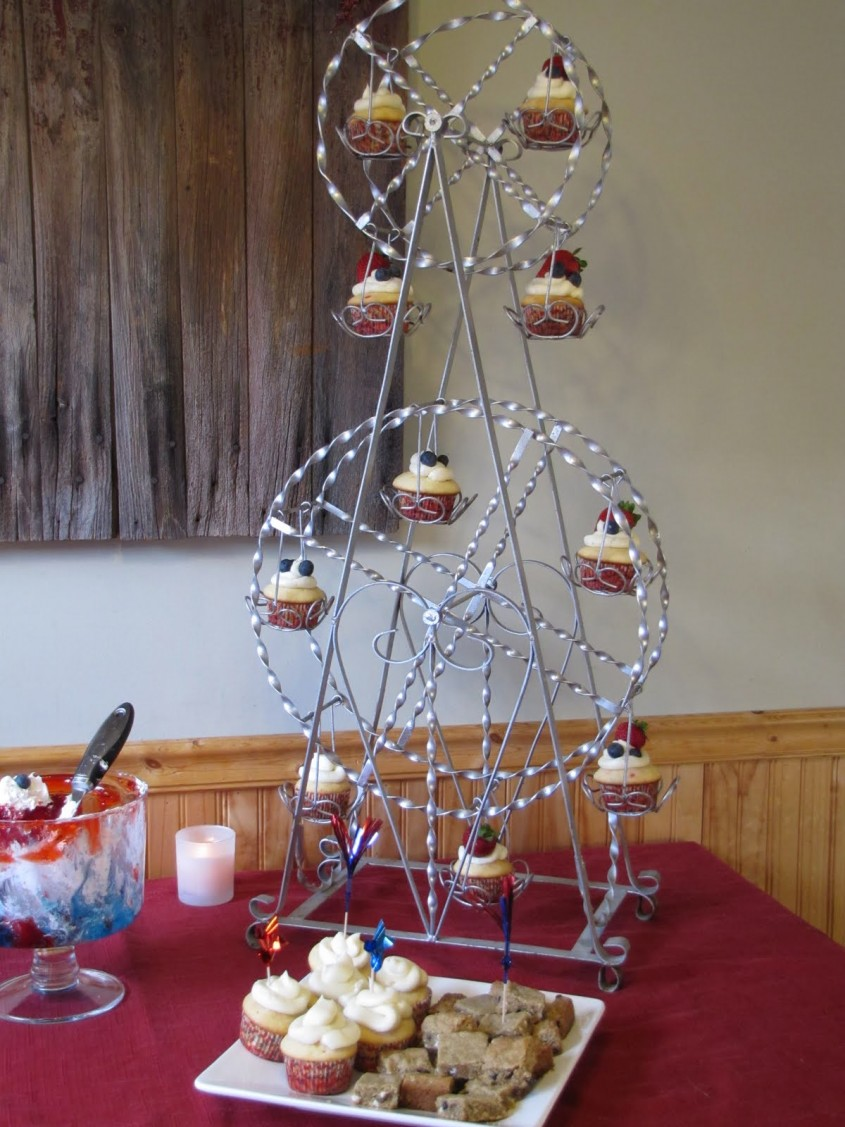 Incredible Ferris Wheel Cupcake Holder For Carnival Party With Ferris Wheel Cupcake Stand