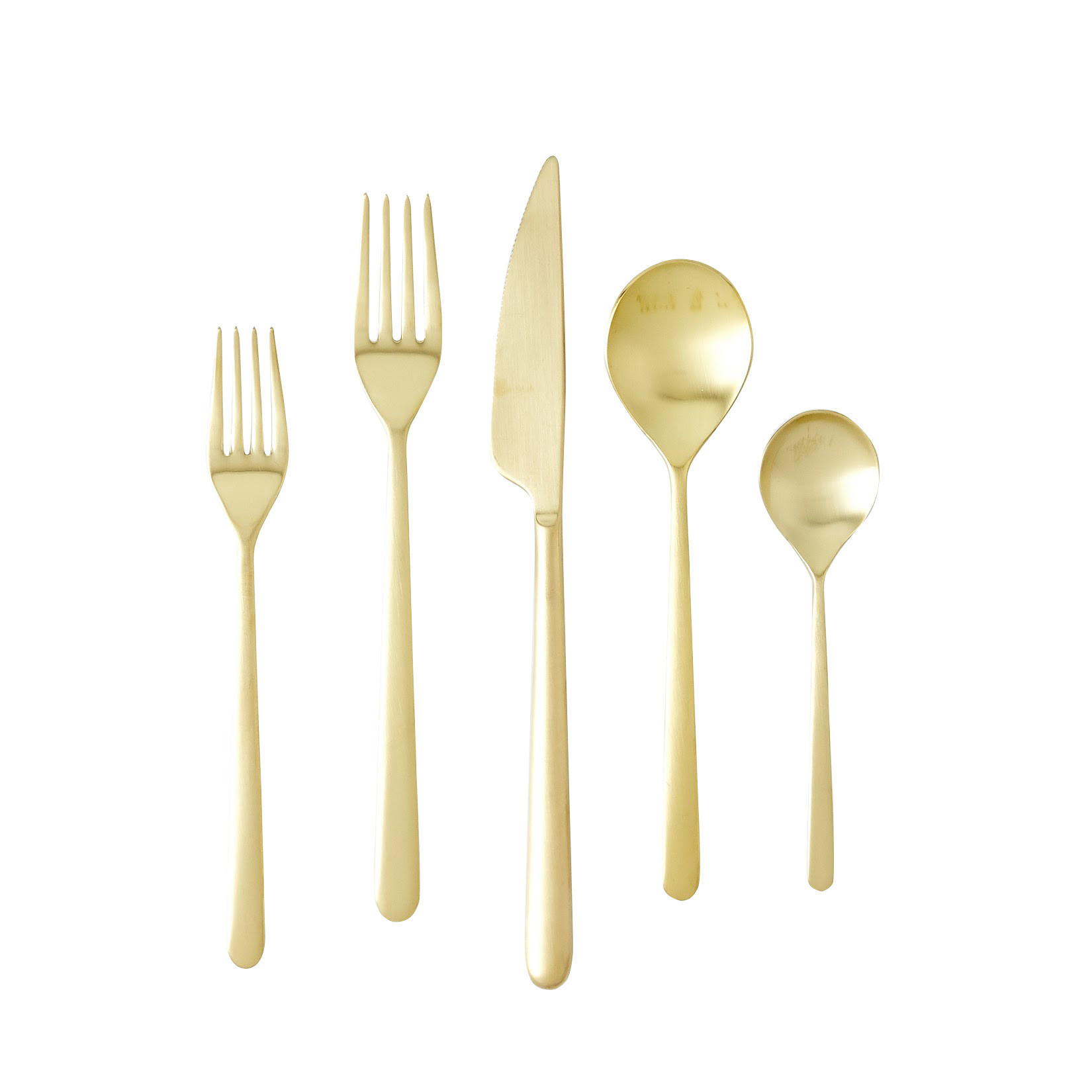 Incredible gold flatware for kitchen and dining sets ideas with gold flatware set