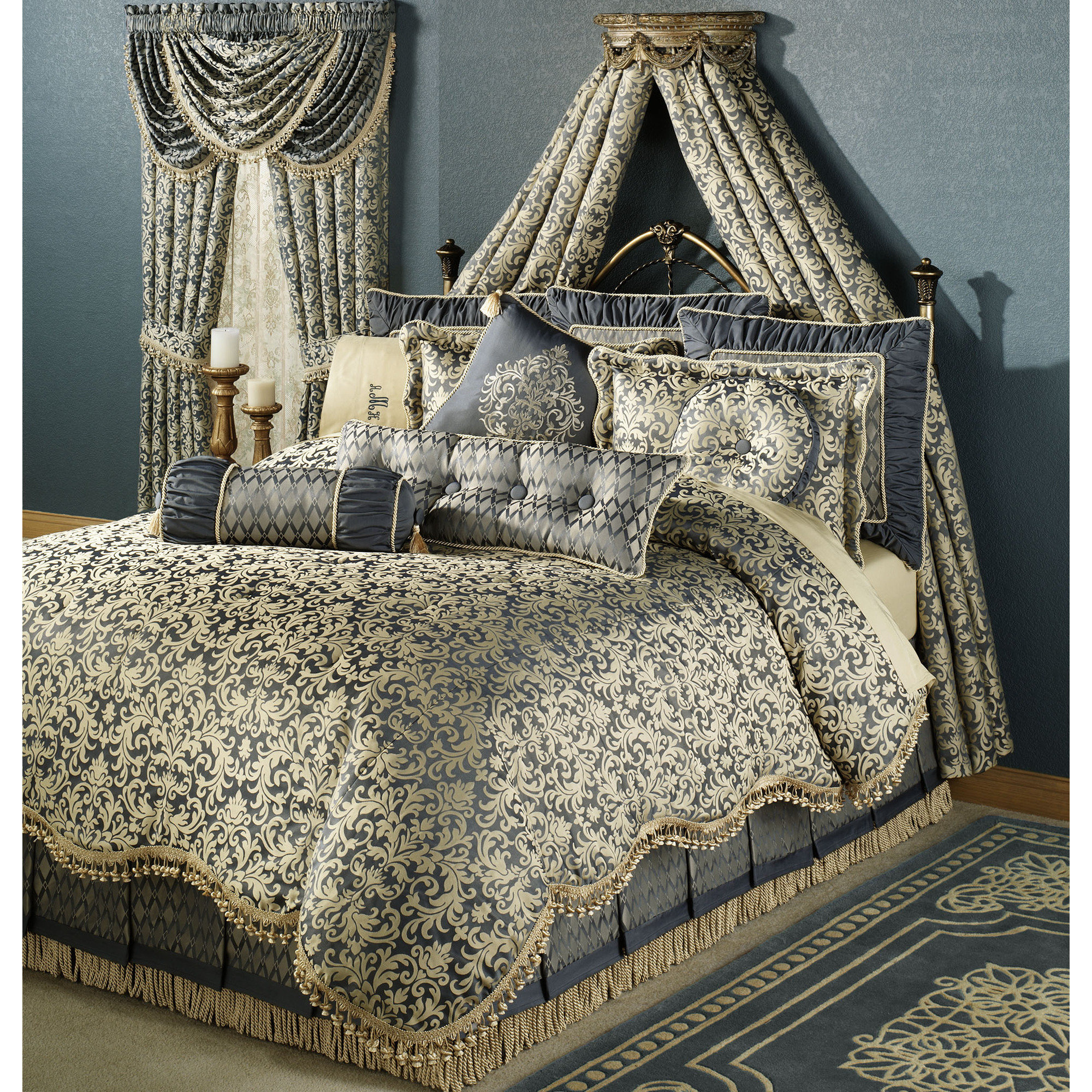 Inspiring damask bedding for bed decorating ideas with damask bedding set and damask crib bedding