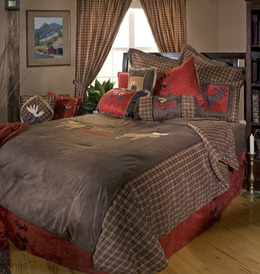 Inspiring Plaid Bedding For Simple Bedroom Design With Ralph Lauren Plaid Bedding